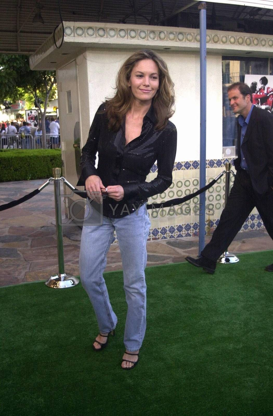 Diane Lane at the premiere of The Replacements in Westwood. 08-07-00