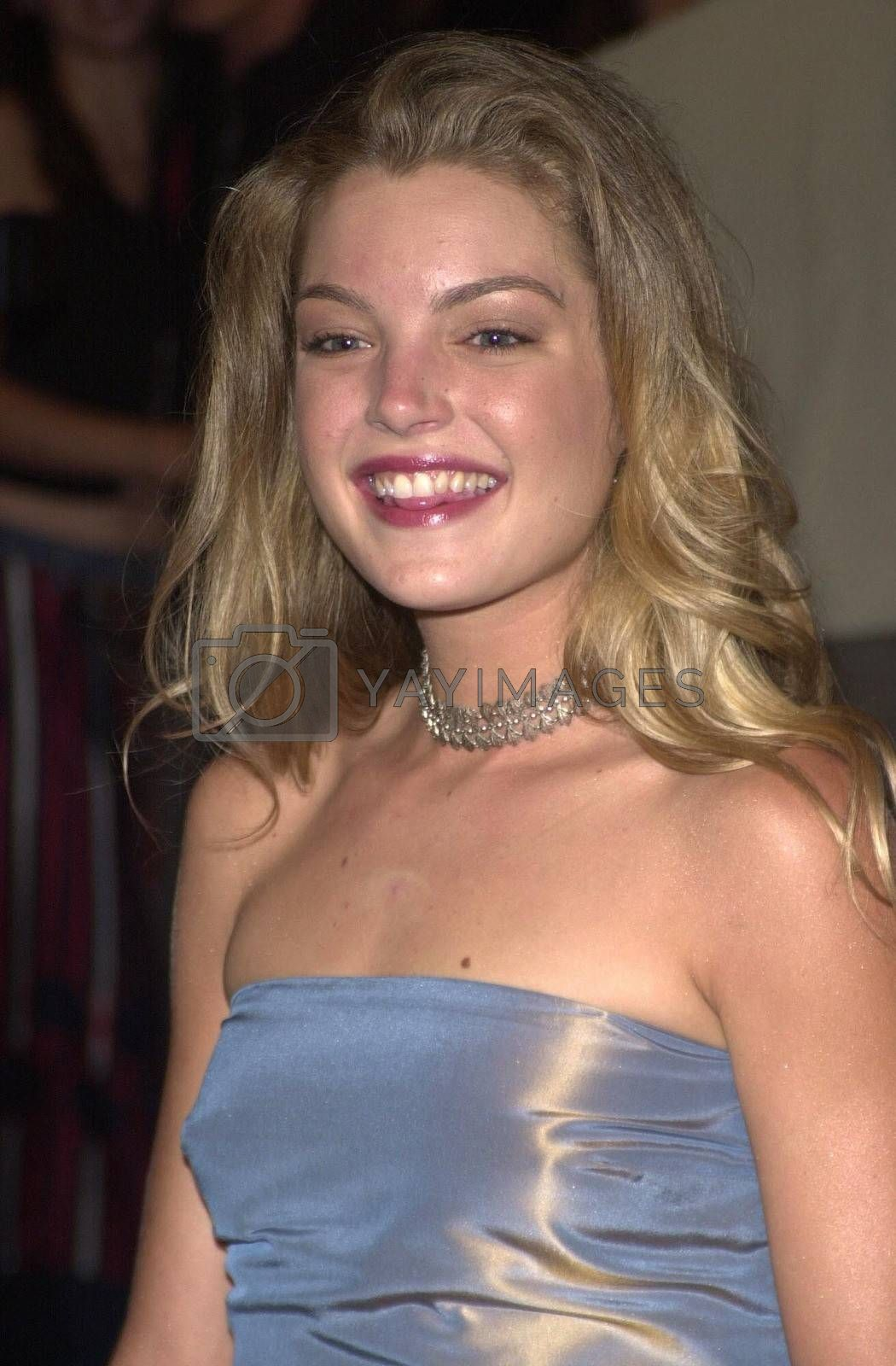 """Clare Kramer at the premiere of """"Bring It On"""" in Westwood. 08-22-00"""