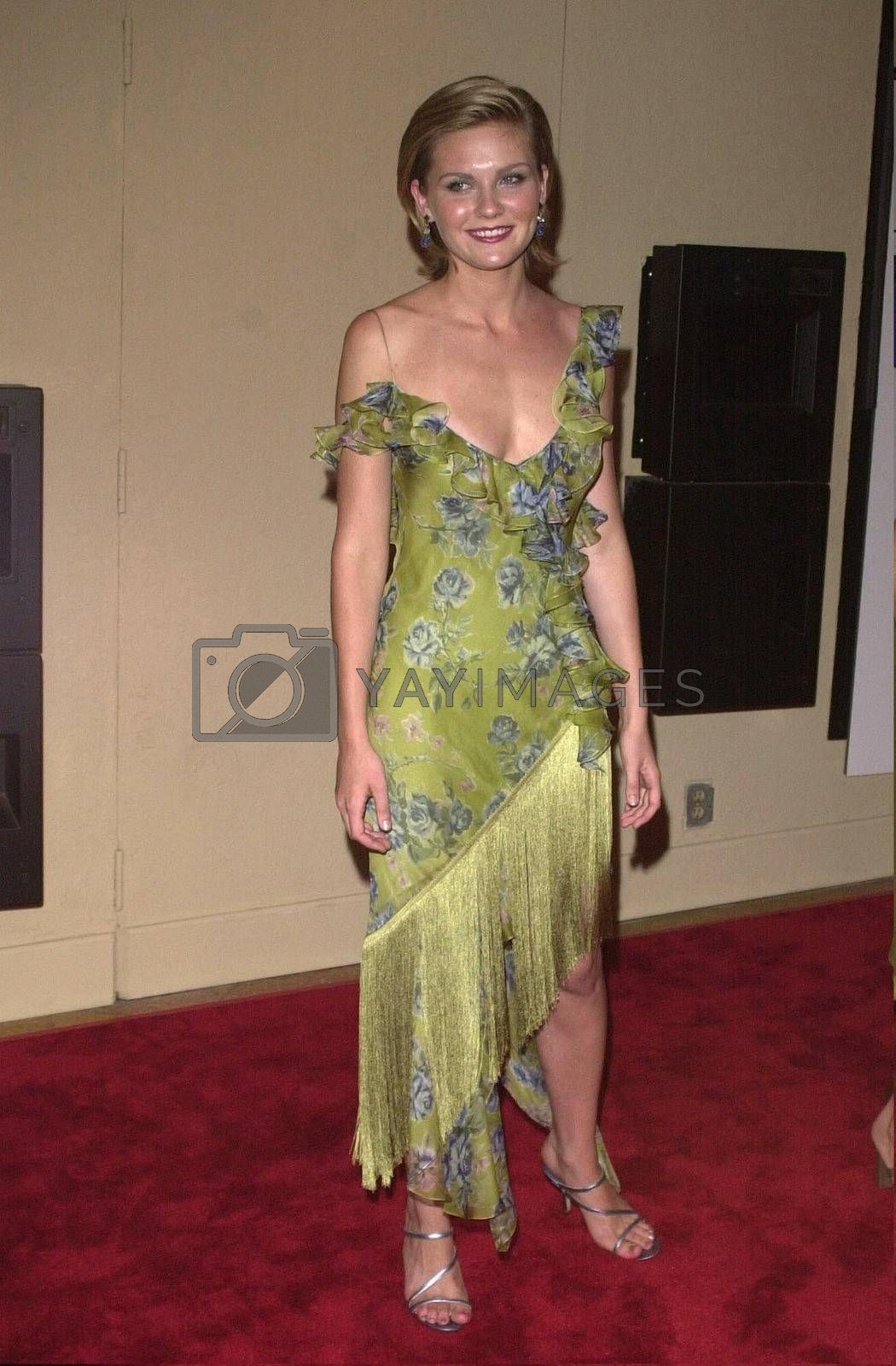 """Kirsten Dunst at the premiere of """"Bring It On"""" in Westwood. 08-22-00"""