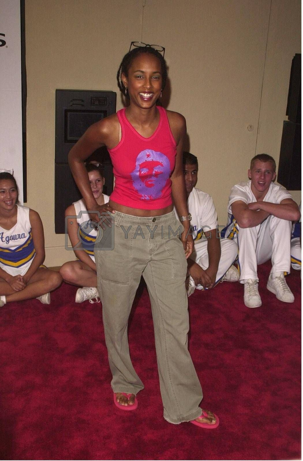 """Trina McGee-Davis at the premiere of """"Bring It On"""" in Westwood. 08-22-00"""