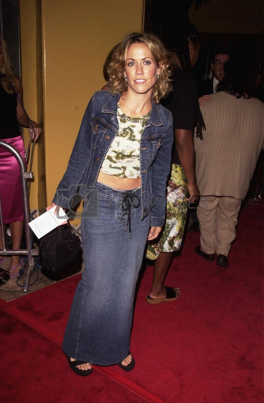 Sheryl Crow at the premiere of Hollow Man in Westwood. 08-02-00