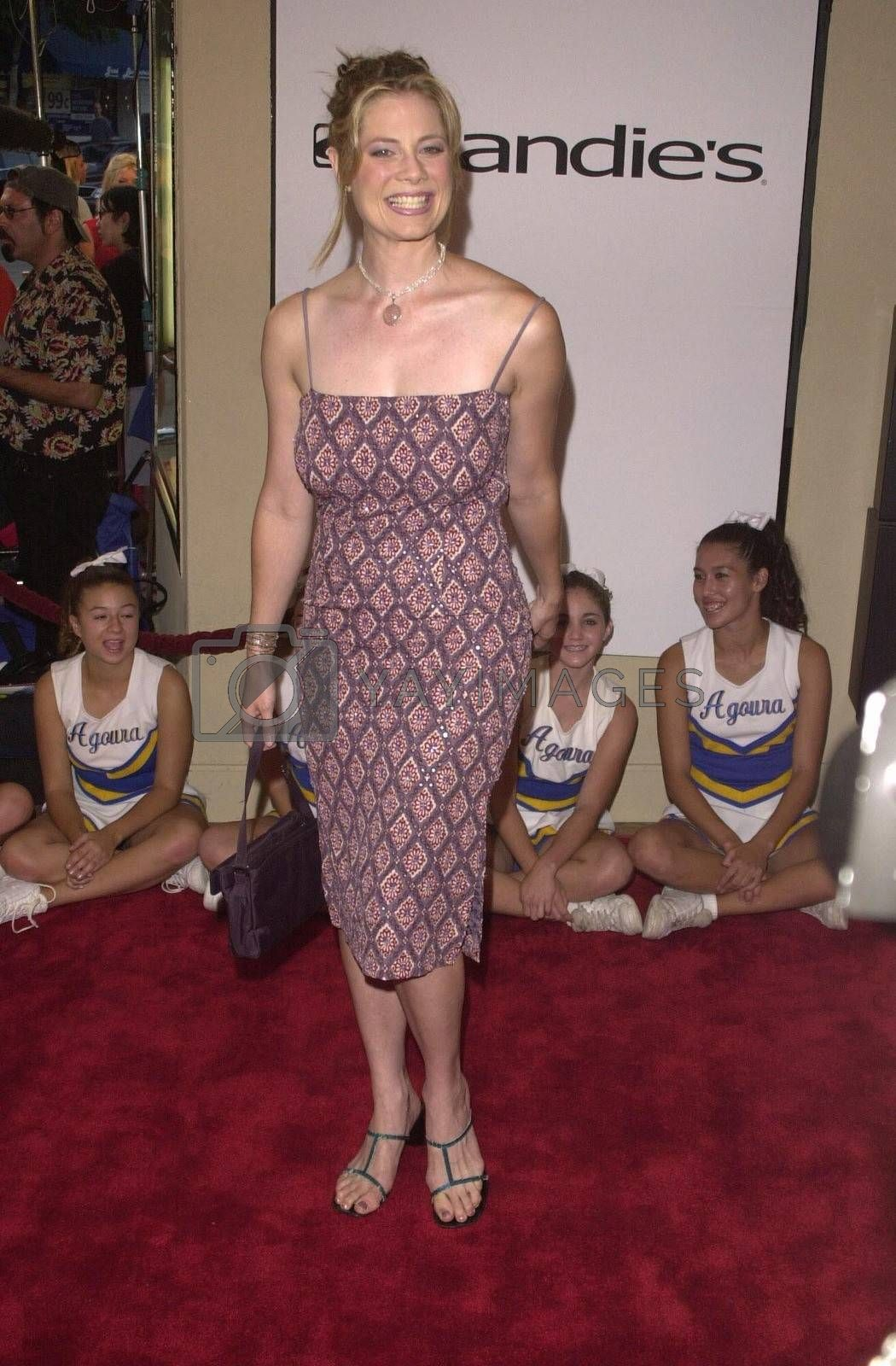 """Meredyth Hunt at the premiere of """"Bring It On"""" in Westwood. 08-22-00"""