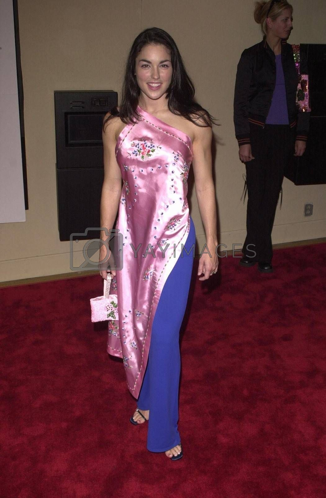 """Tsianina Joelson at the premiere of """"Bring It On"""" in Westwood. 08-22-00"""