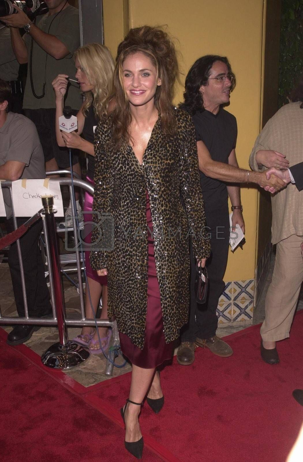 Amy Brenneman at the premiere of Hollow Man in Westwood. 08-02-00
