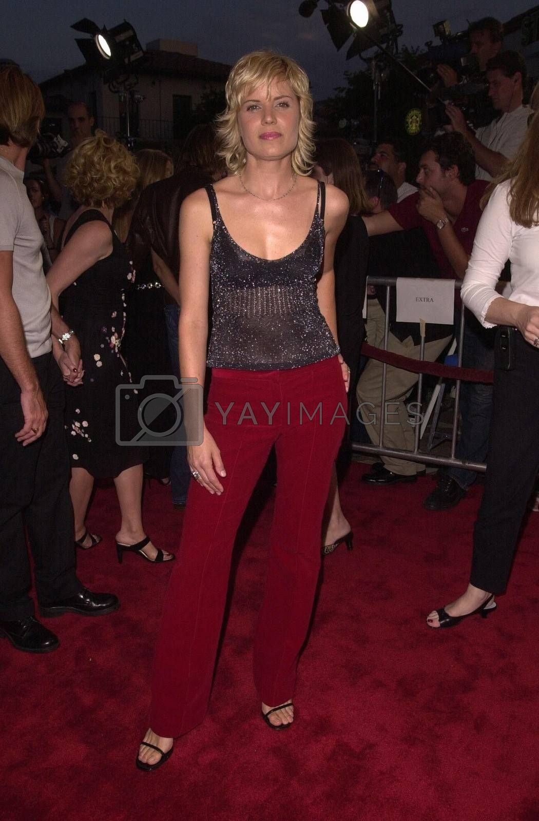 Kim Dickens at the premiere of Hollow Man in Westwood. 08-02-00