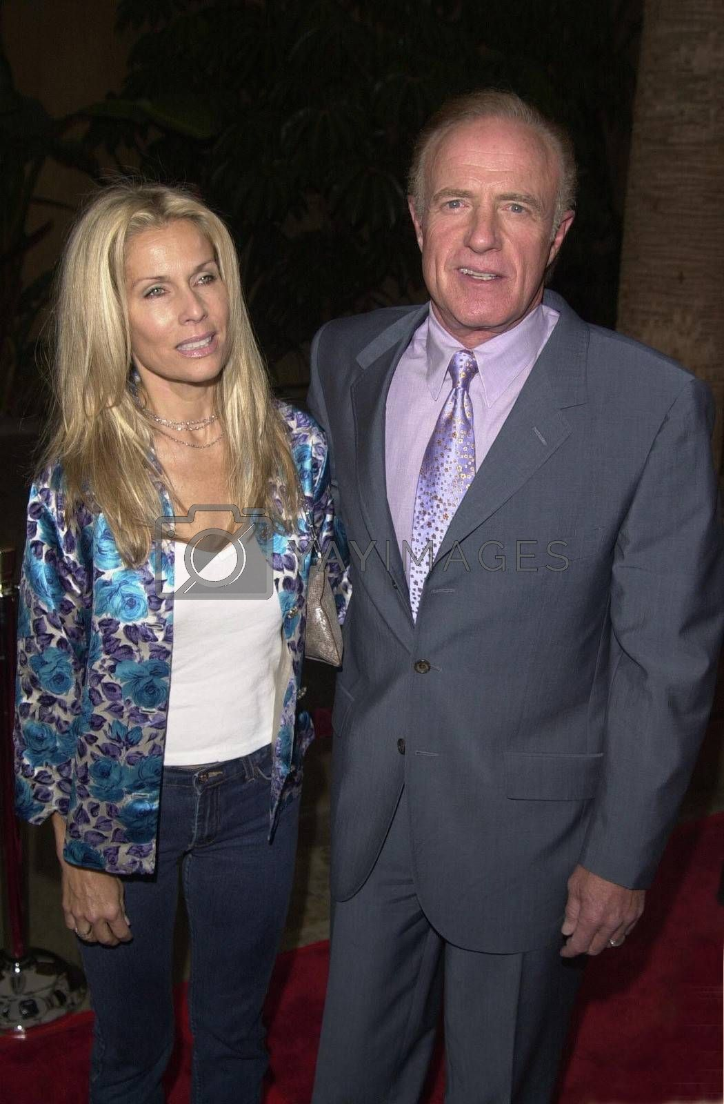 James Caan and Linda Stokes at the premiere of The Way Of The Gun in Hollywood. 08-29-00