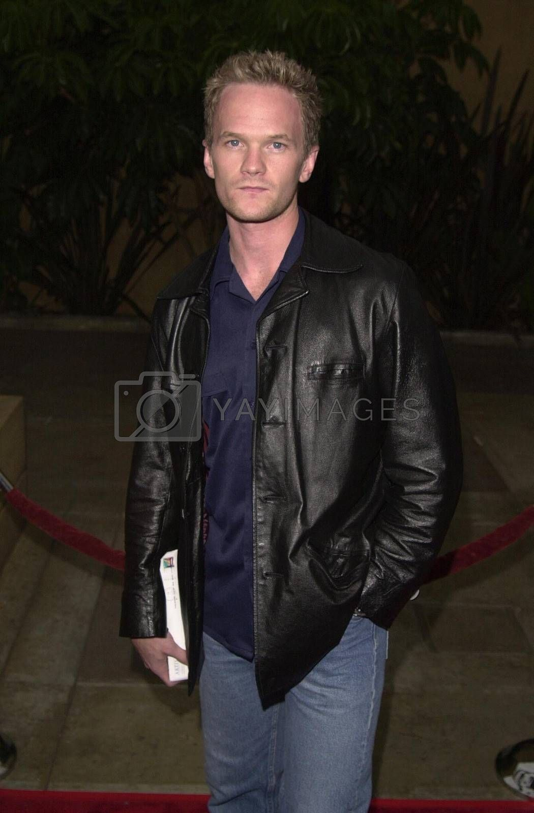 Neil Patrick Harris at the premiere of The Way Of The Gun in Hollywood. 08-29-00