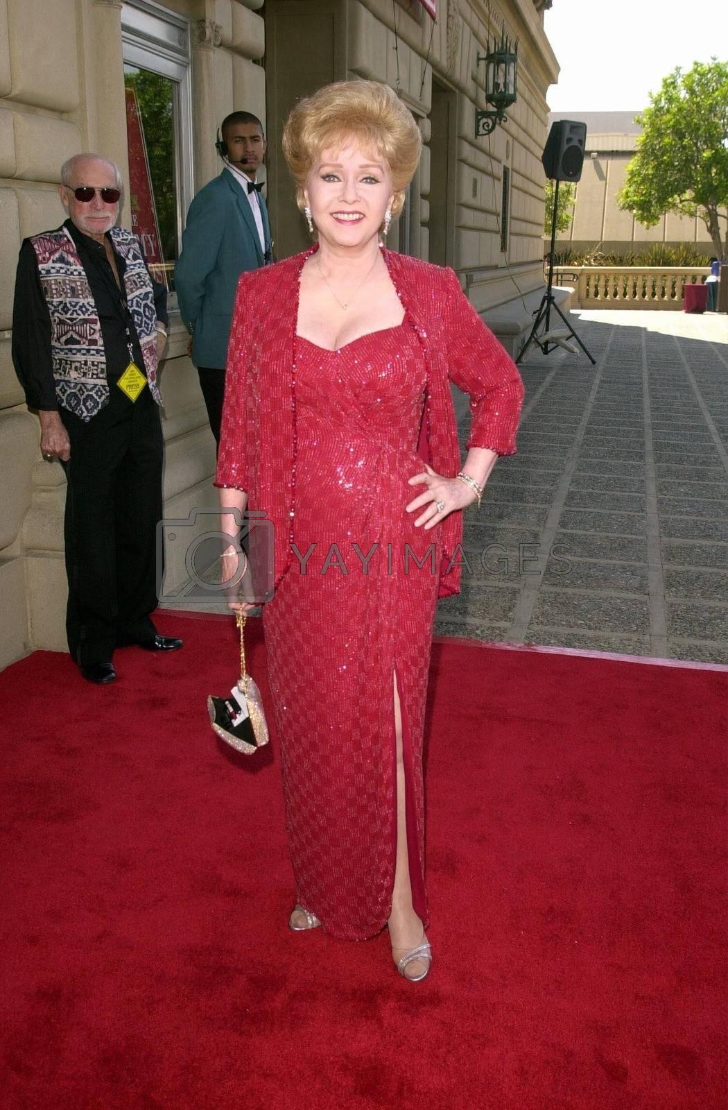 Debbie Reynolds at the Creative Arts Emmy Awards in Pasadena. 08-26-00