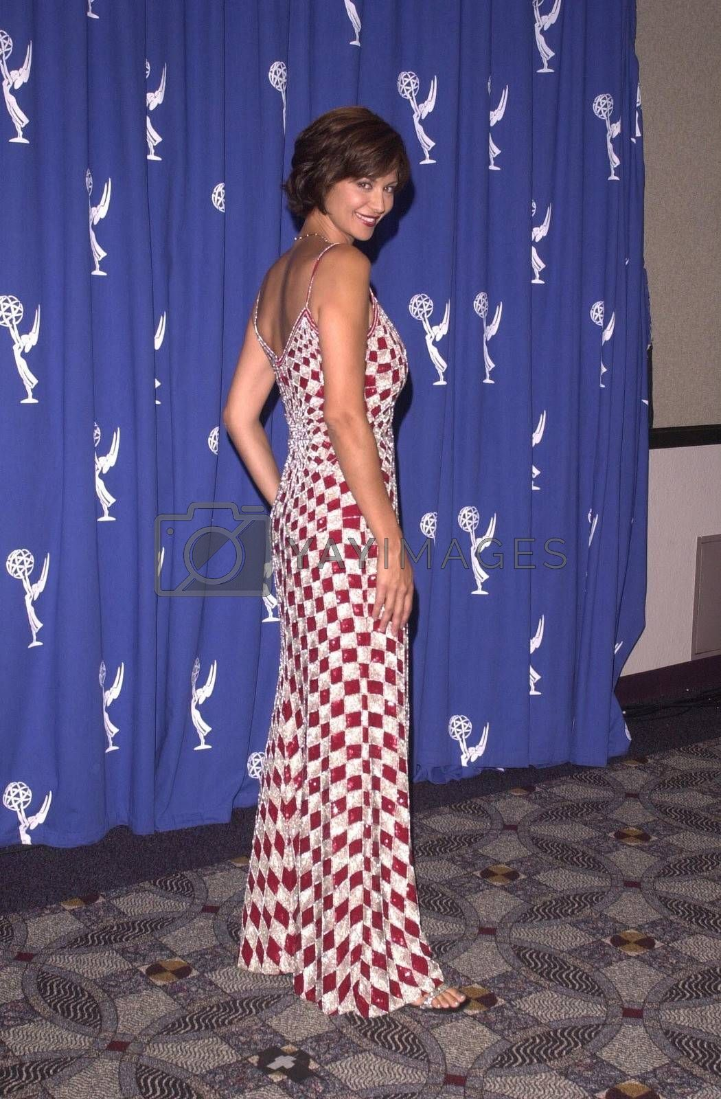 Catherine Bell at the Creative Arts Emmy Awards in Pasadena. 08-26-00