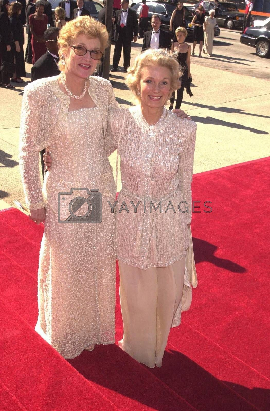 Yvette Mimieux and Sister Gloria at the Creative Arts Emmy Awards in Pasadena. 08-26-00