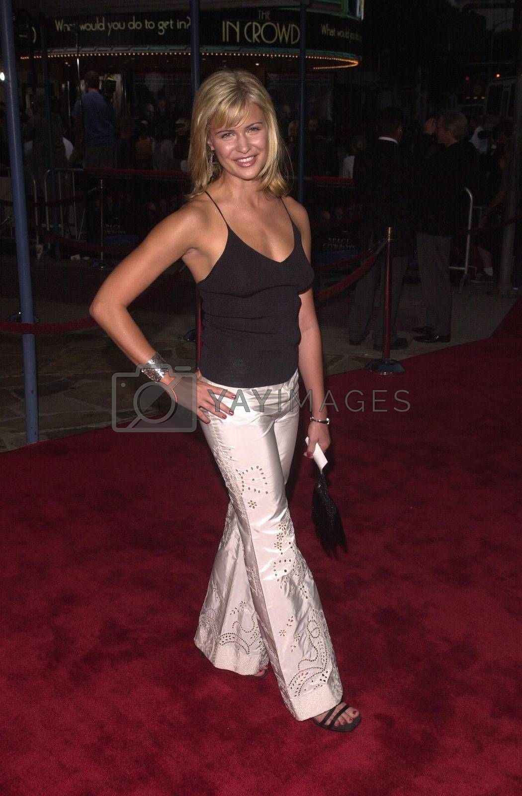 """Anne Stedman at the premiere of """"Space Cowboys"""" in Westwood. 08-01-00"""