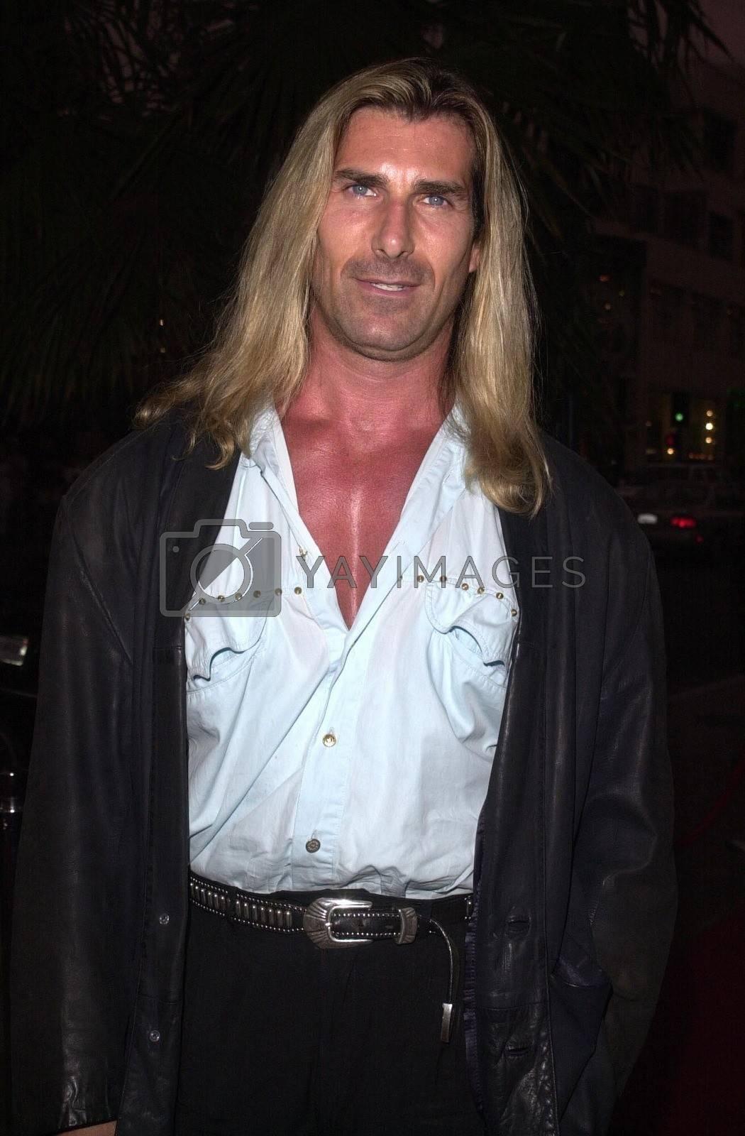 Fabio at the premiere of My 5 Wives in Santa Monica. 08-28-00