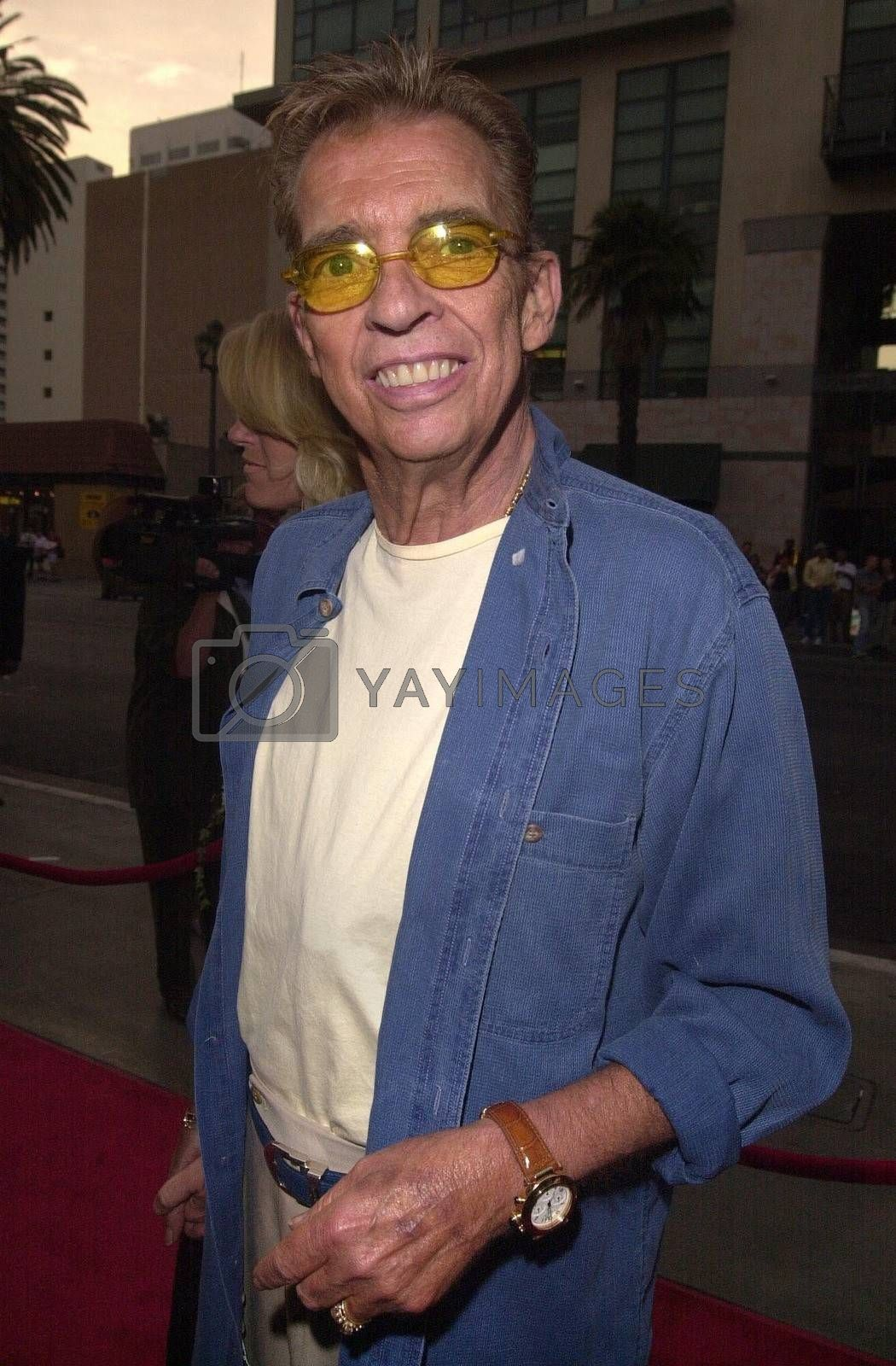 Morton Downey Jr. at the premiere of My 5 Wives in Santa Monica. 08-28-00