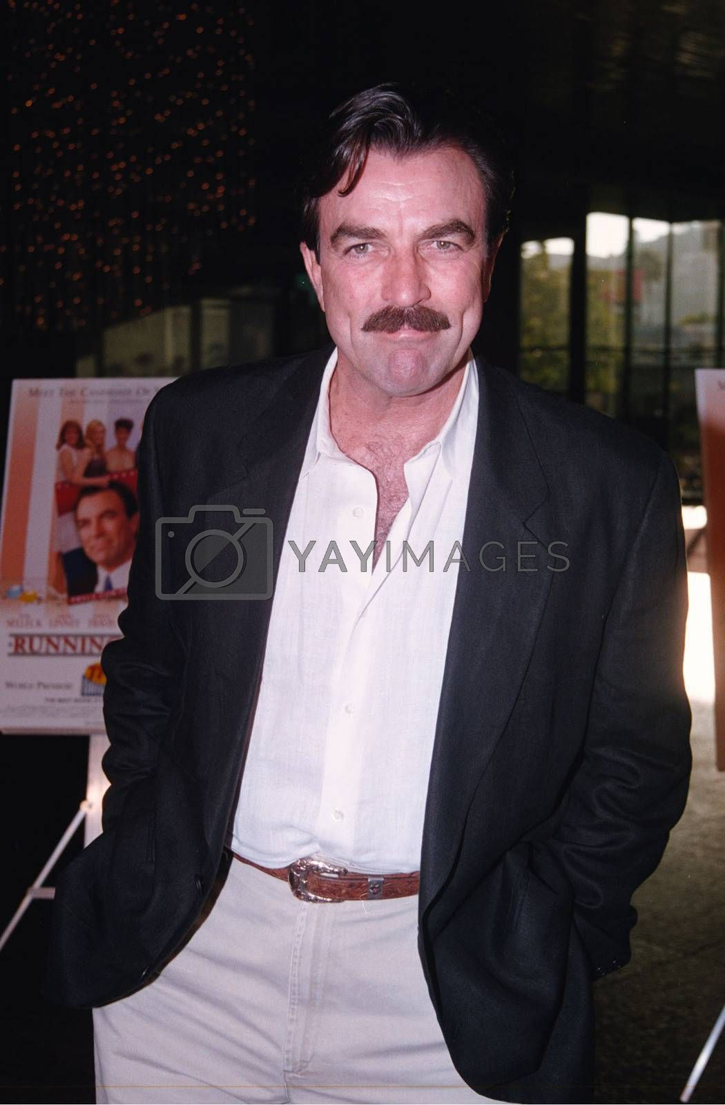 Tom Selleck at the premiere of the TNT movie Running Mates. 08-01-00