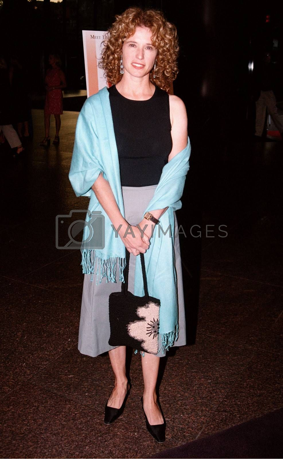 Nancy Travis at the premiere of the TNT movie Running Mates. 08-01-00