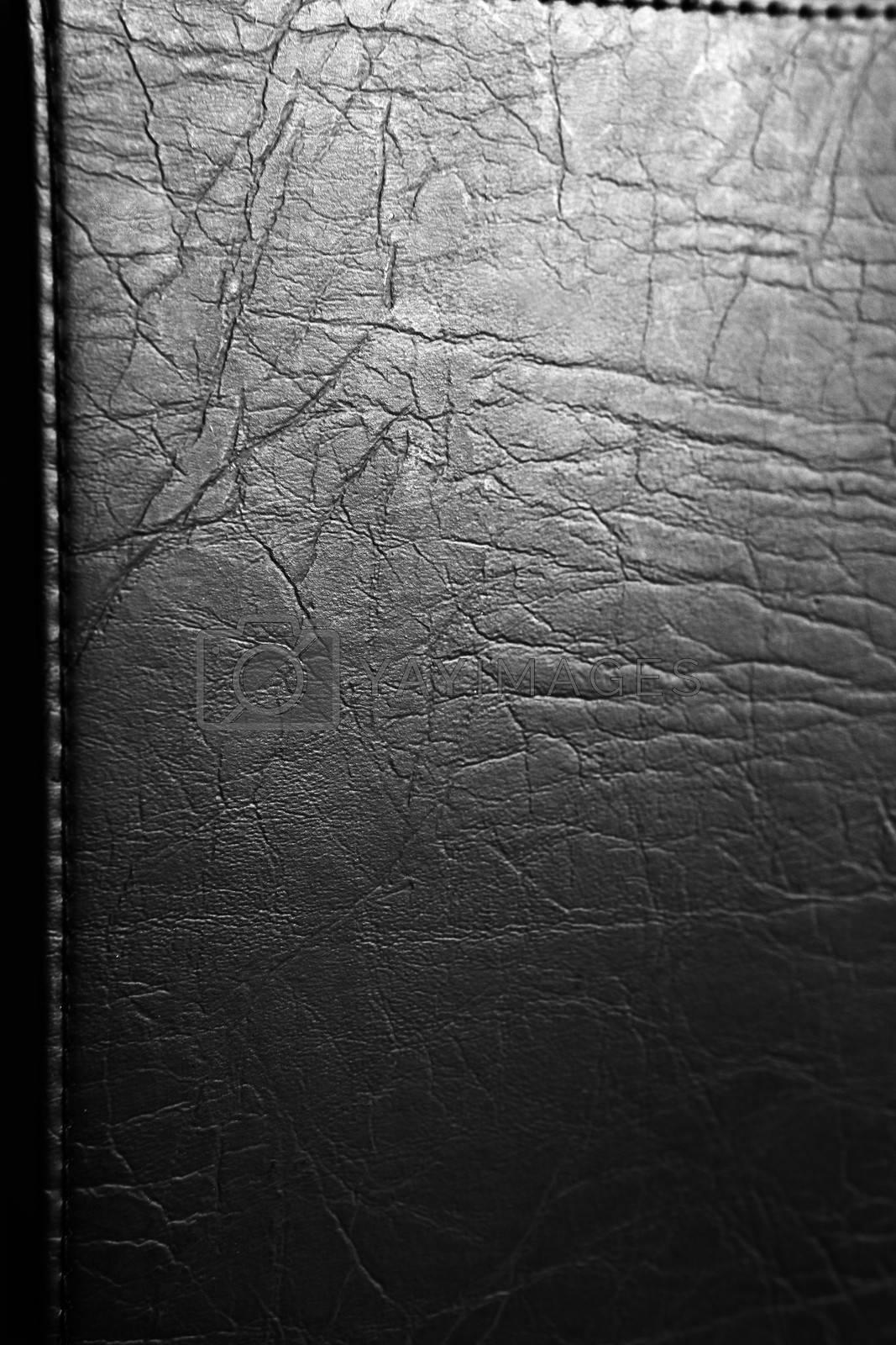 Closeup of dark textured background