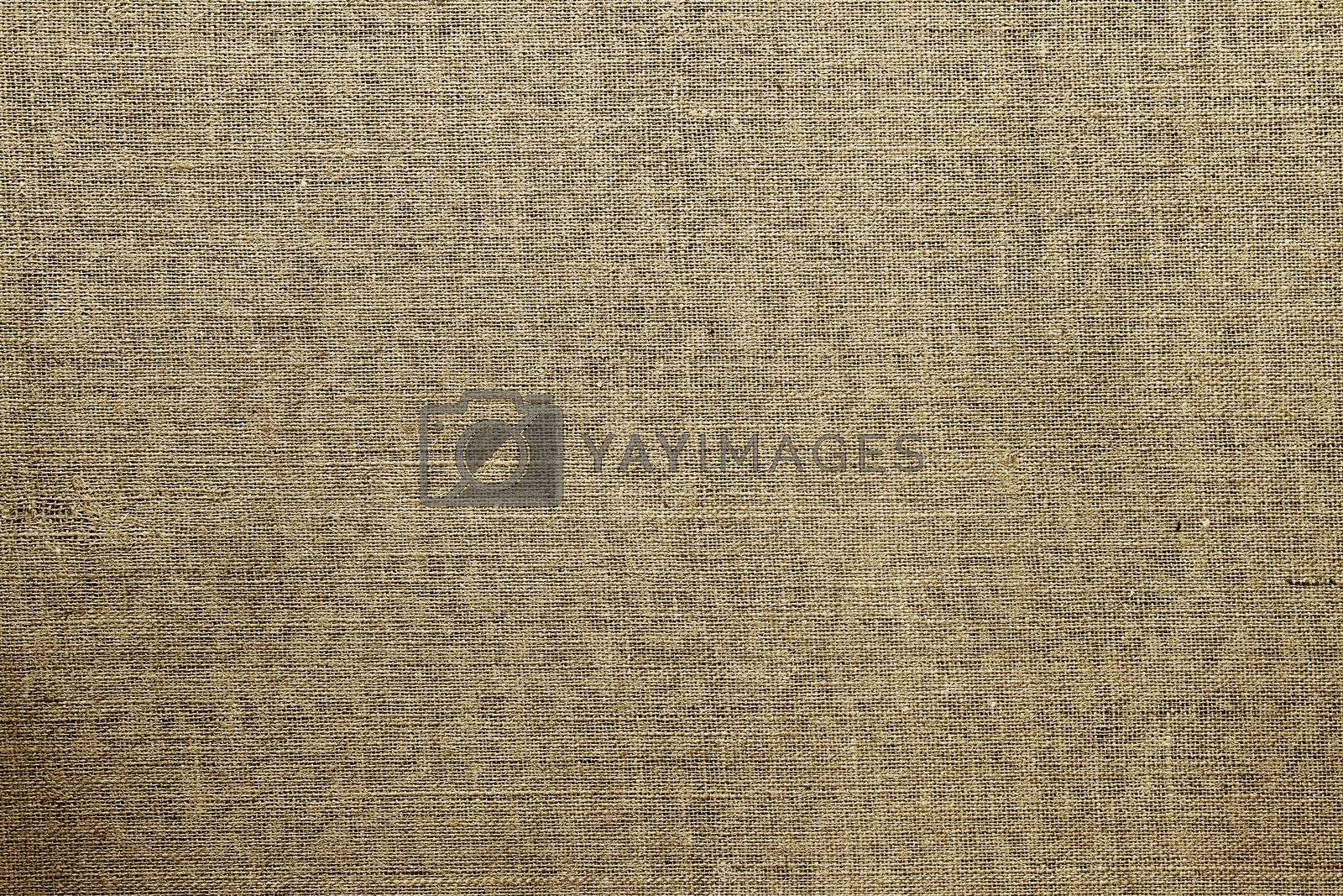 Closeup of brown textured surface