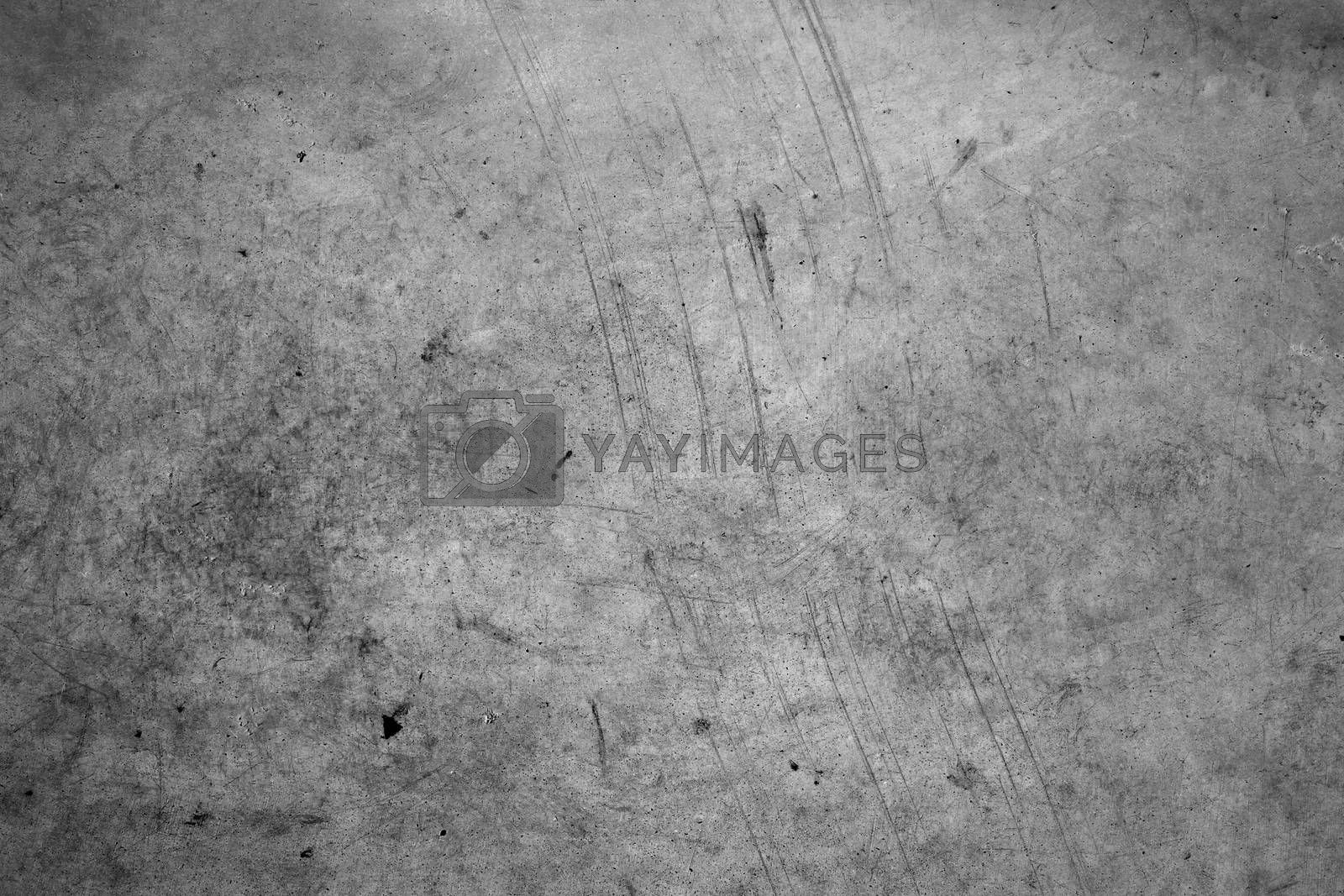 Grey rough textured wall background