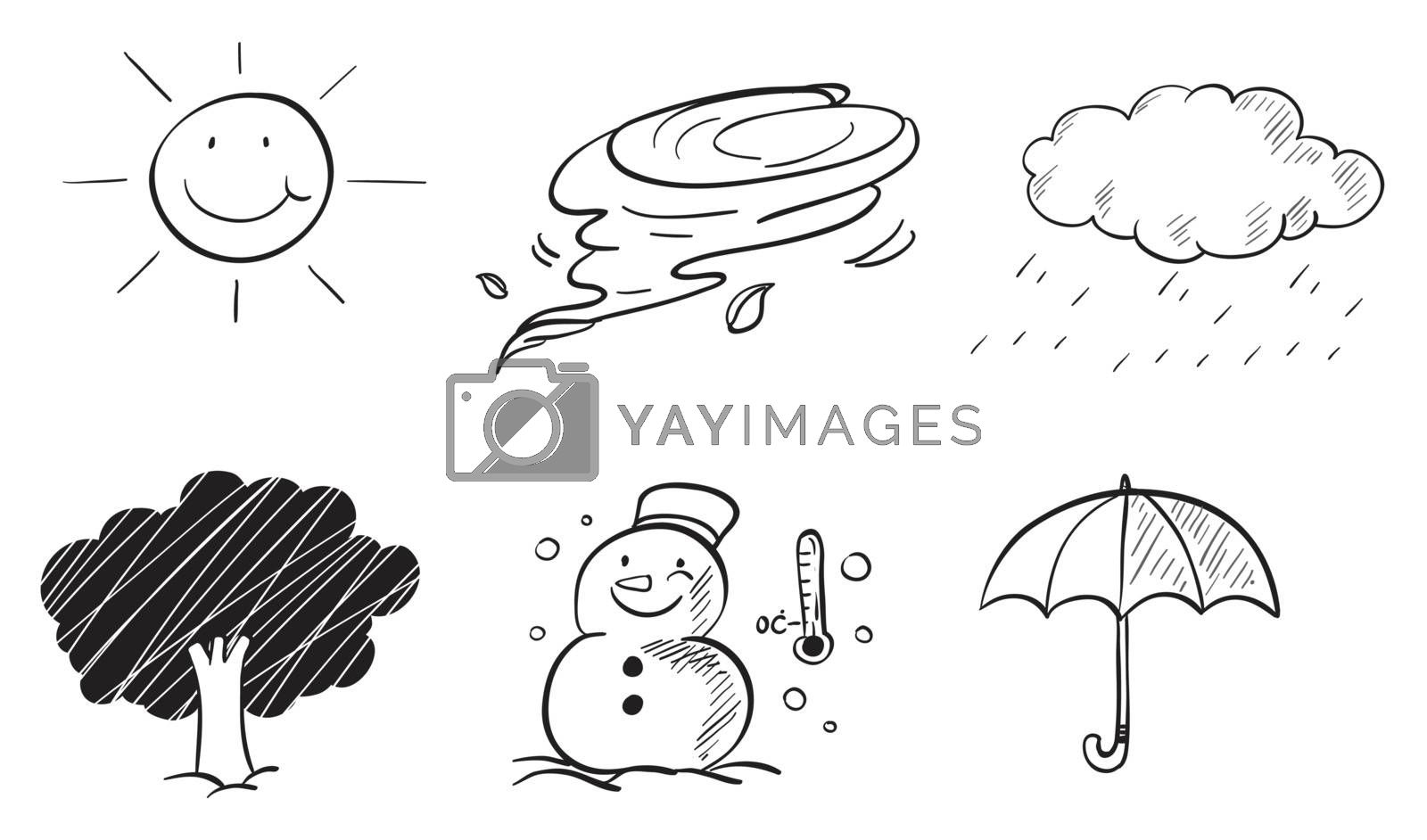 Different kinds of weather by iimages