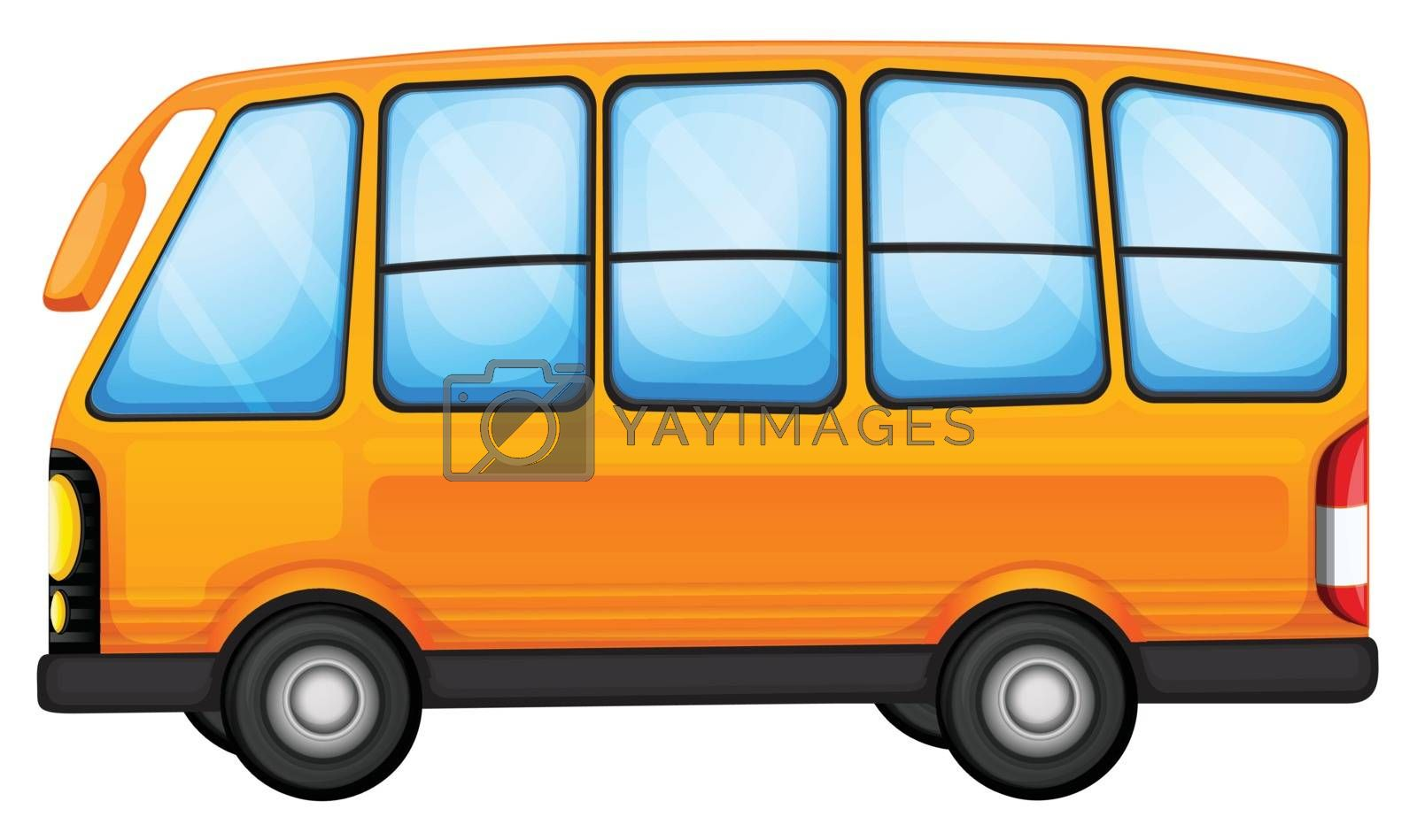 Royalty free image of A big bus by iimages