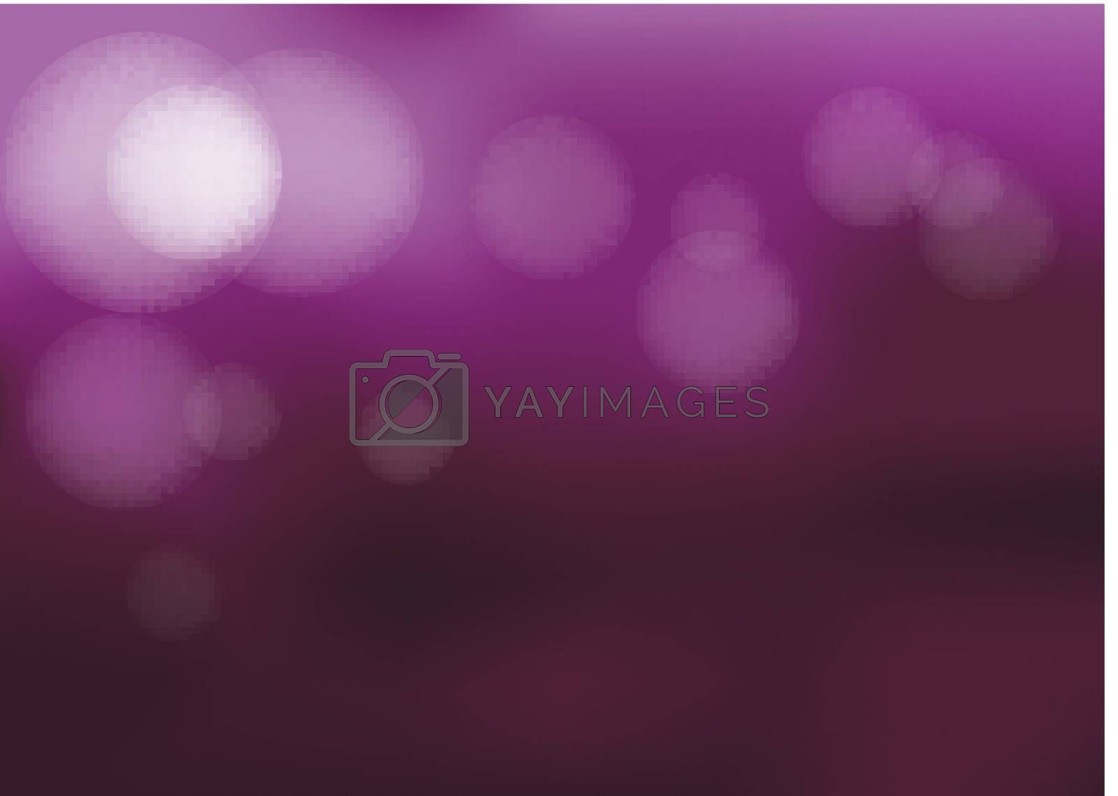 Illustration of a lavender colored template