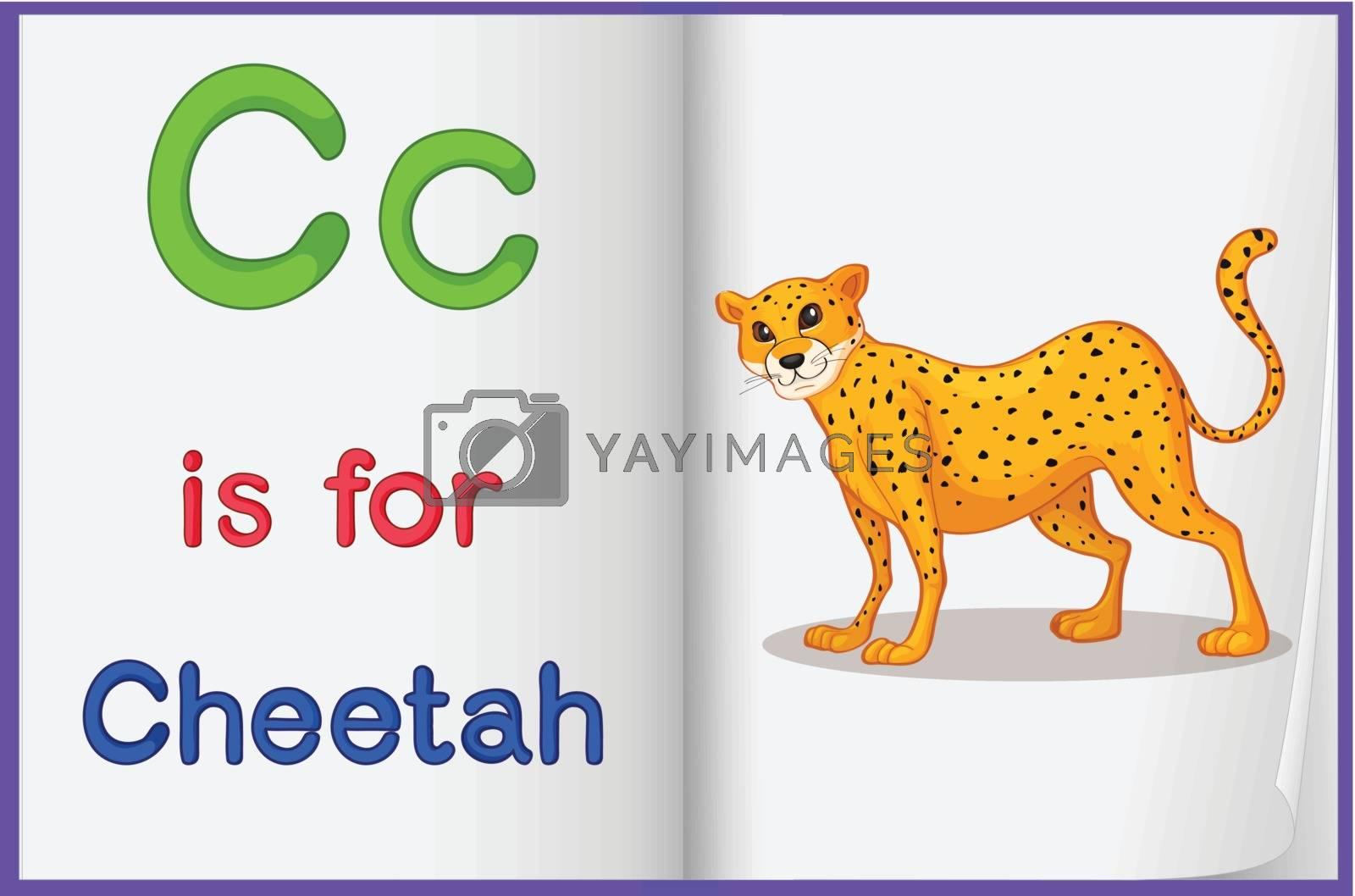 Alphabet worksheet for the letter C