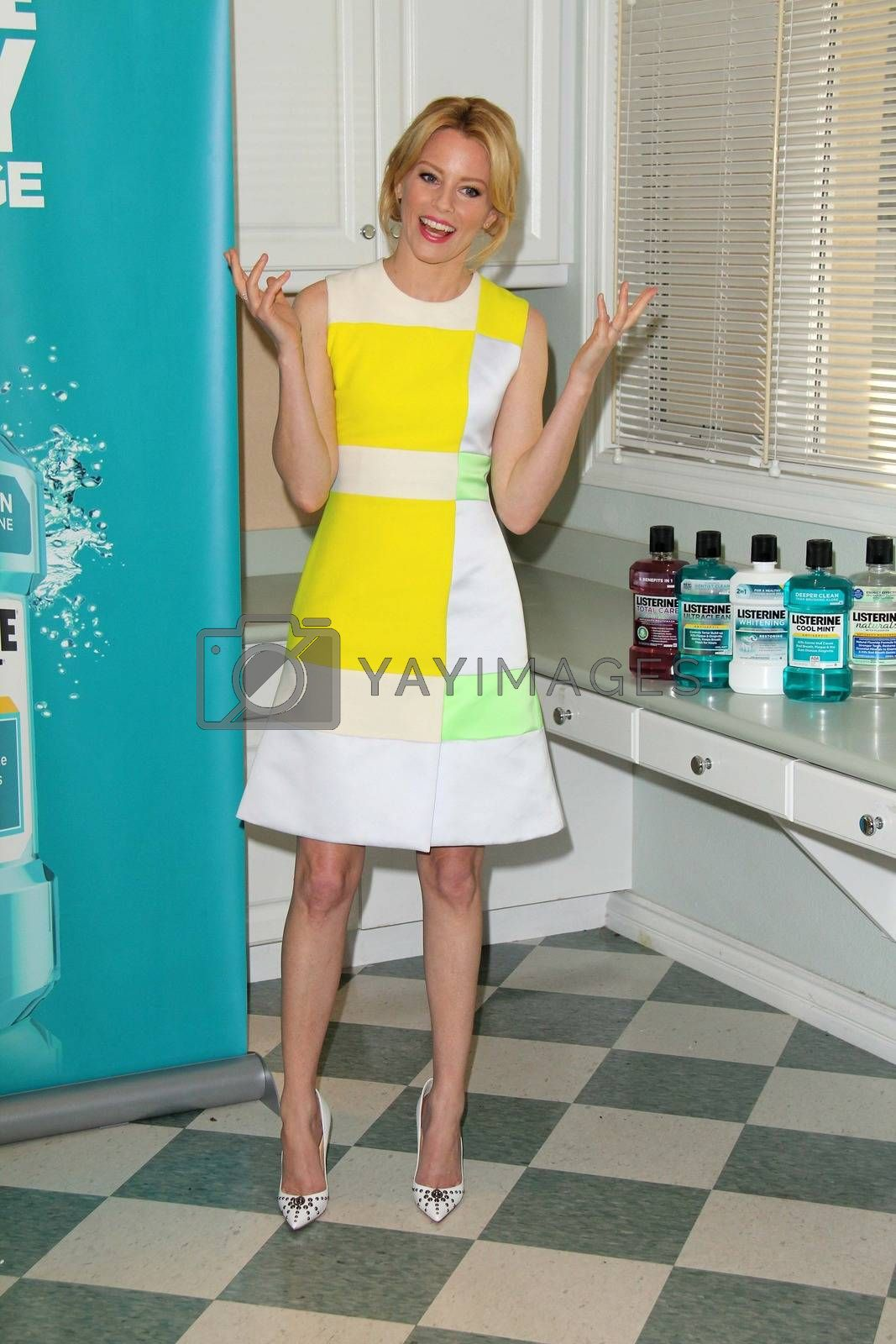 Elizabeth Banks Kicks Off The Listerine 21 Day Challenge, Children's Dental Center of Greater Los Angeles, Inglewood, CA 02-13 14/ImageCollect by ImageCollect