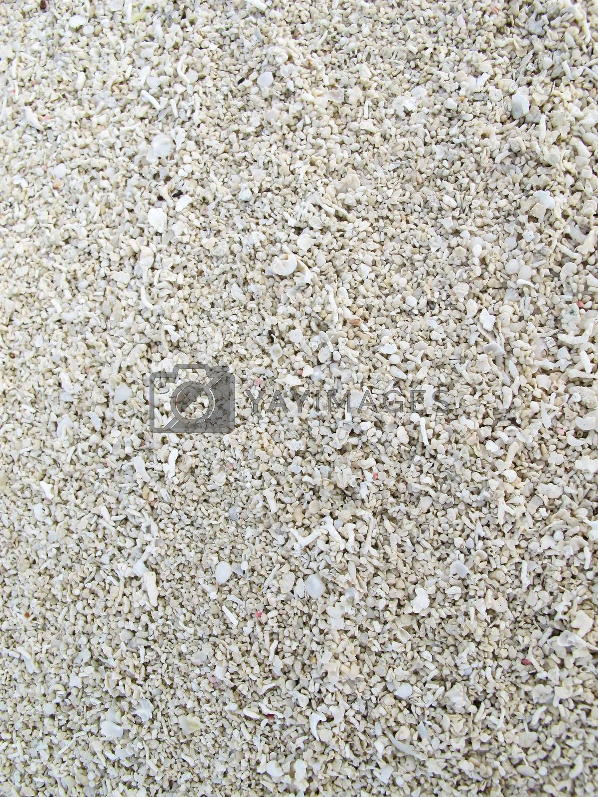 Close up of beach white sand  by get4net