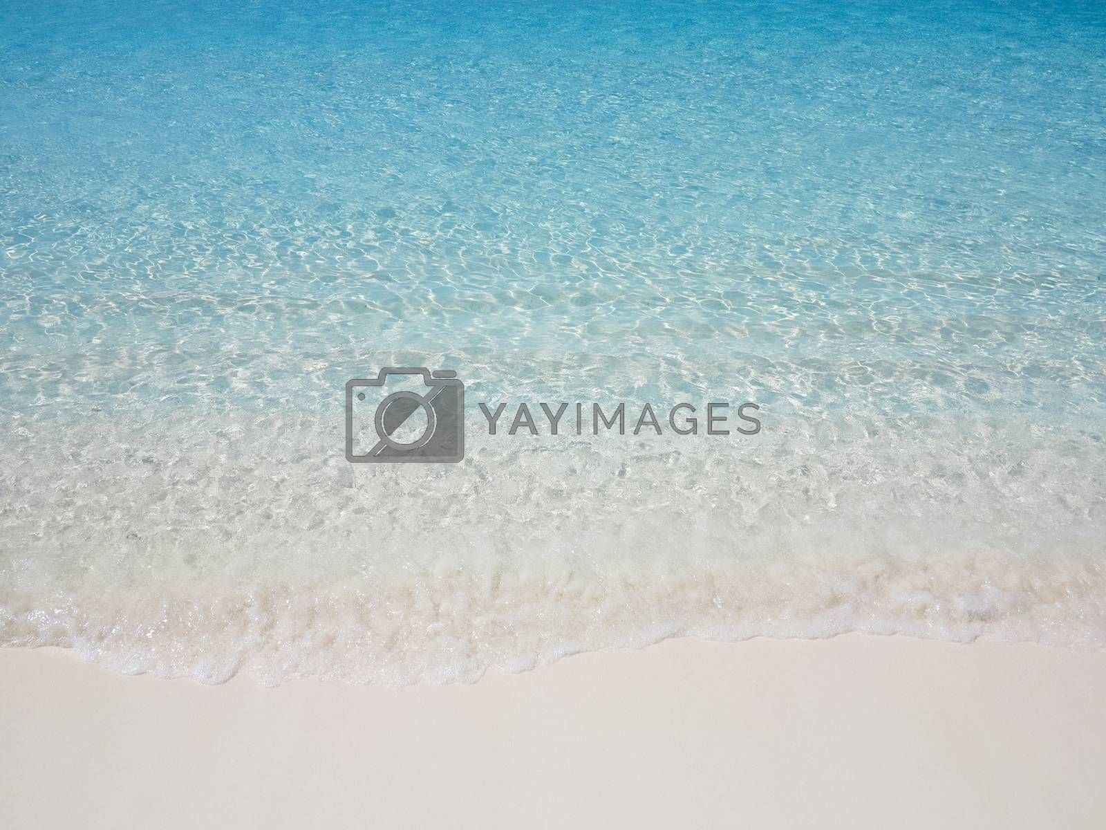 Sea shore at summer sunny day by get4net