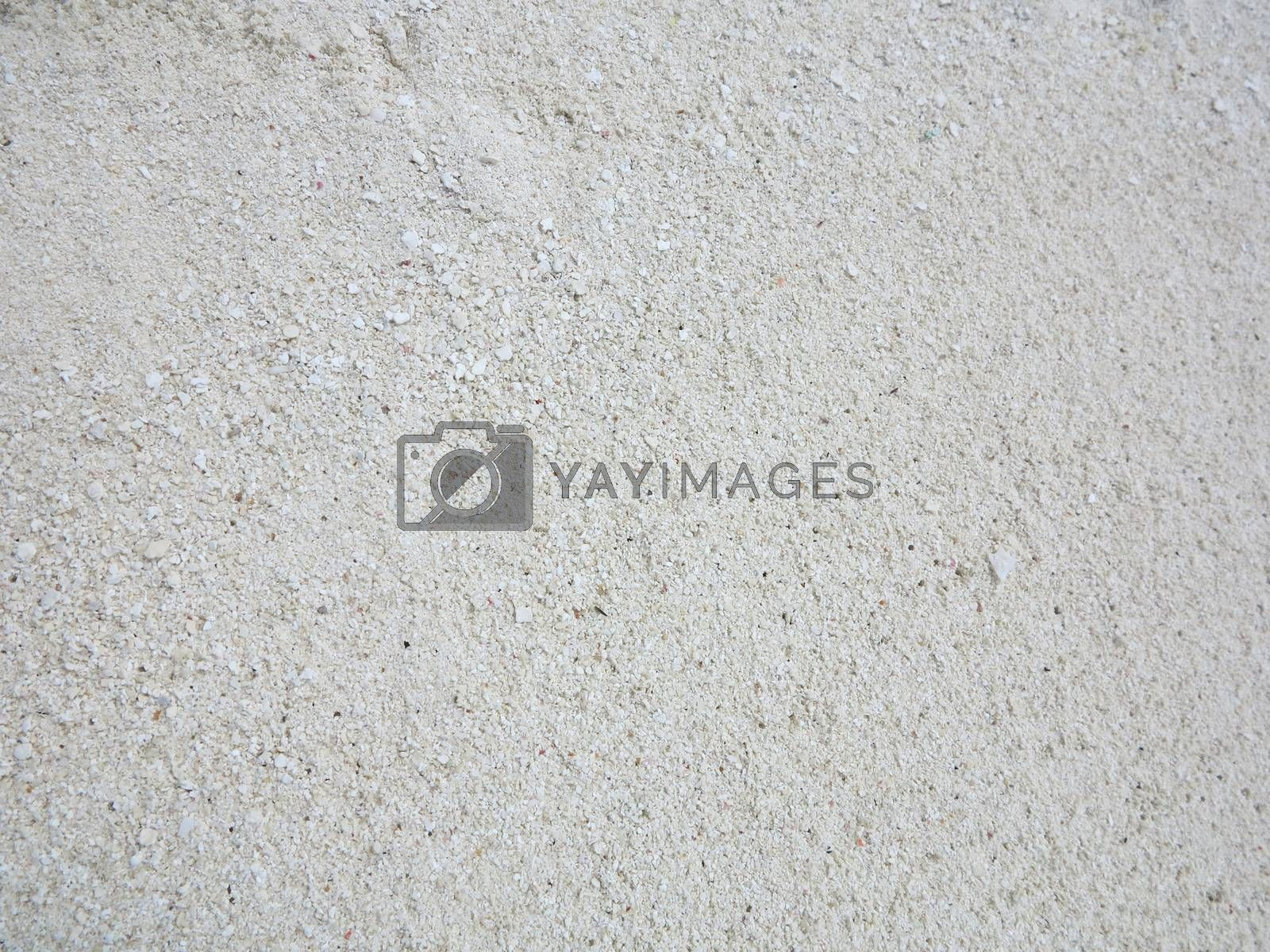 Close up of beach sand texture