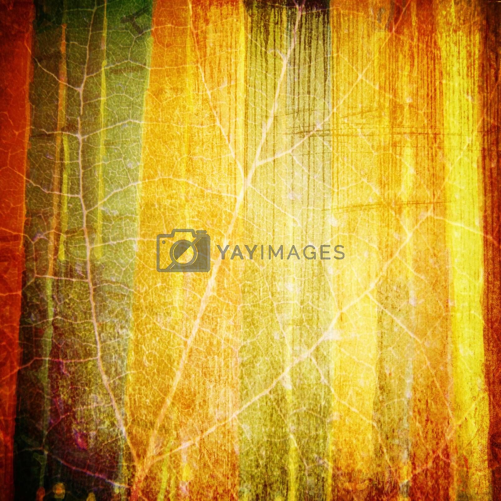 Illustration of abstract stripped retro background
