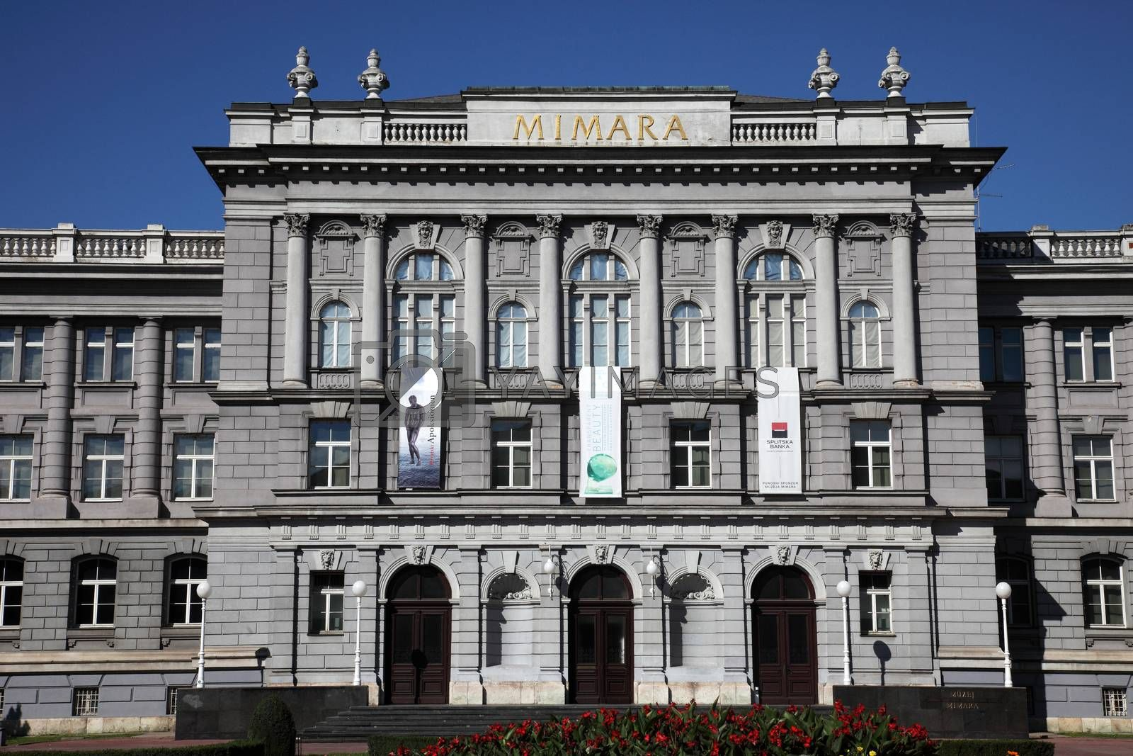 Mimara Museum in Zagreb, Croatia