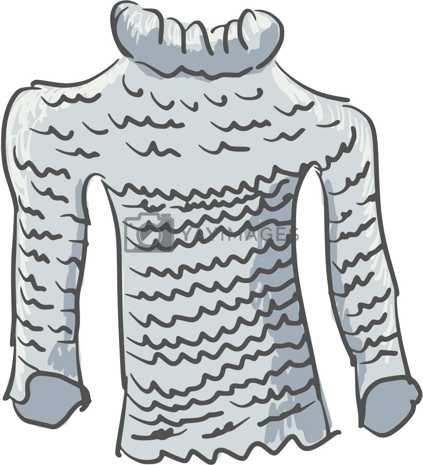 Royalty free image of sweater by Perysty
