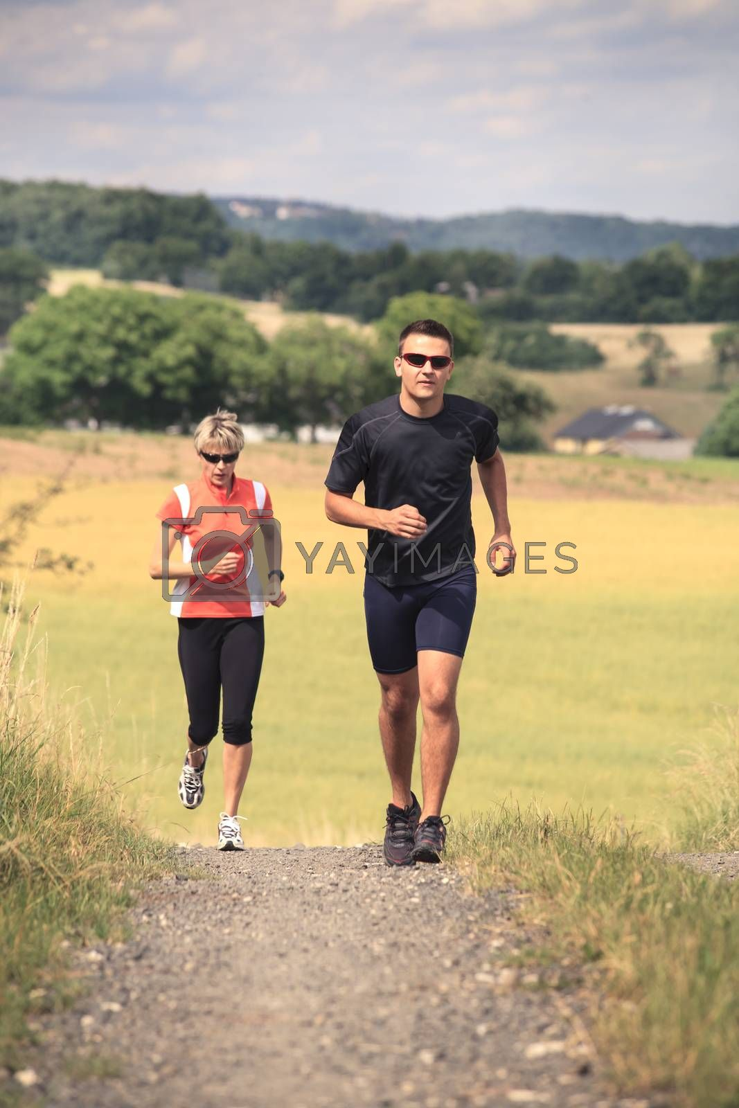 jogging people by val_th