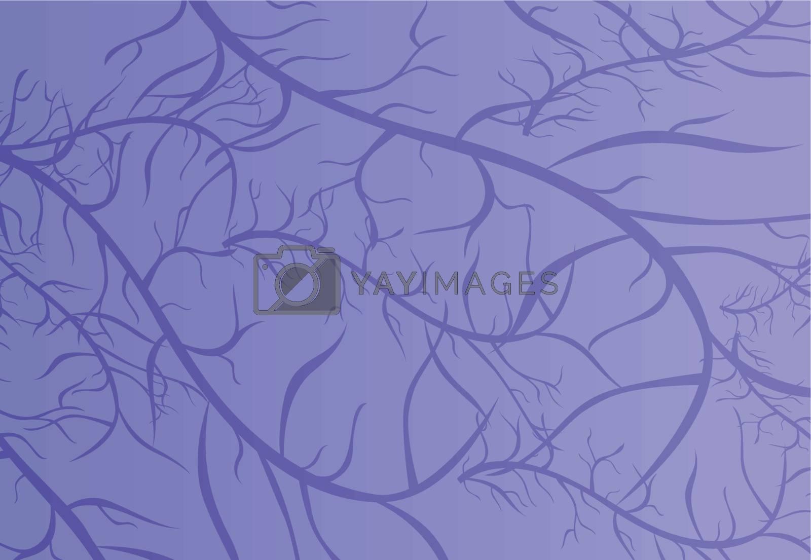Illustration of purple vein texture