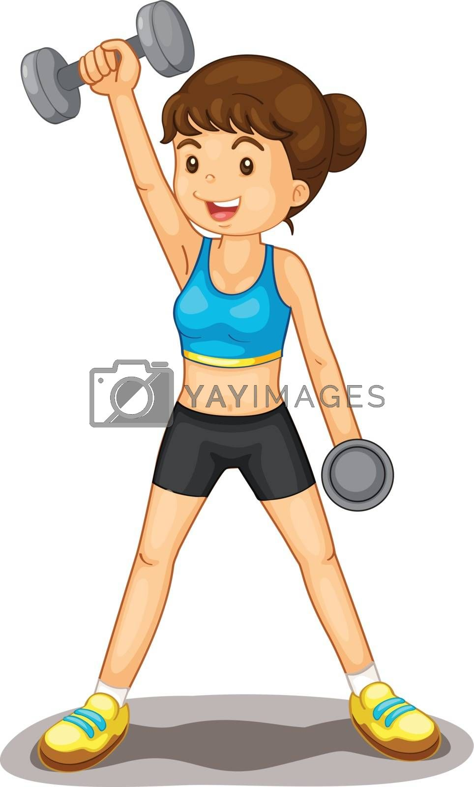 Royalty free image of fitness by iimages