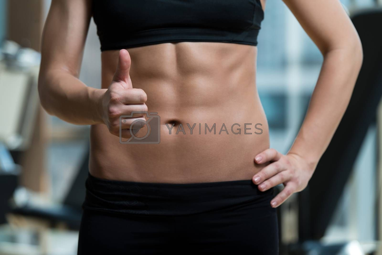 Royalty free image of Diet And Fitness Concept by JalePhoto