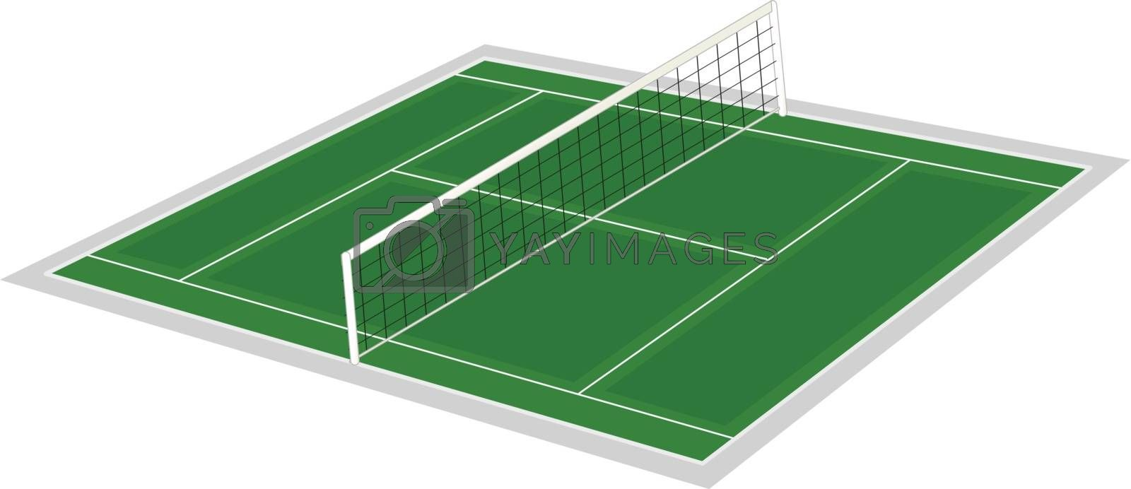 volley ball ground Royalty Free Stock Image | Stock Photos, Royalty Free Images, Vectors, Footage | Yayimages