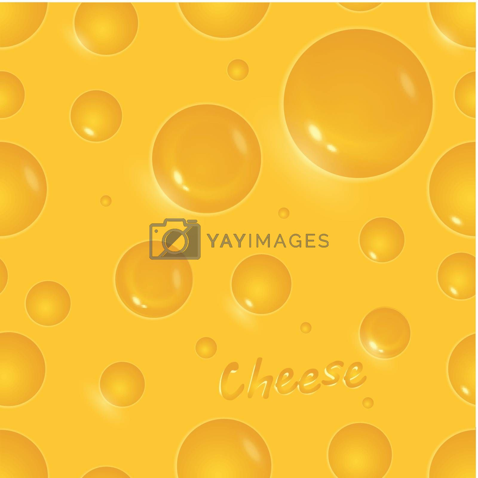 Seamless chees background