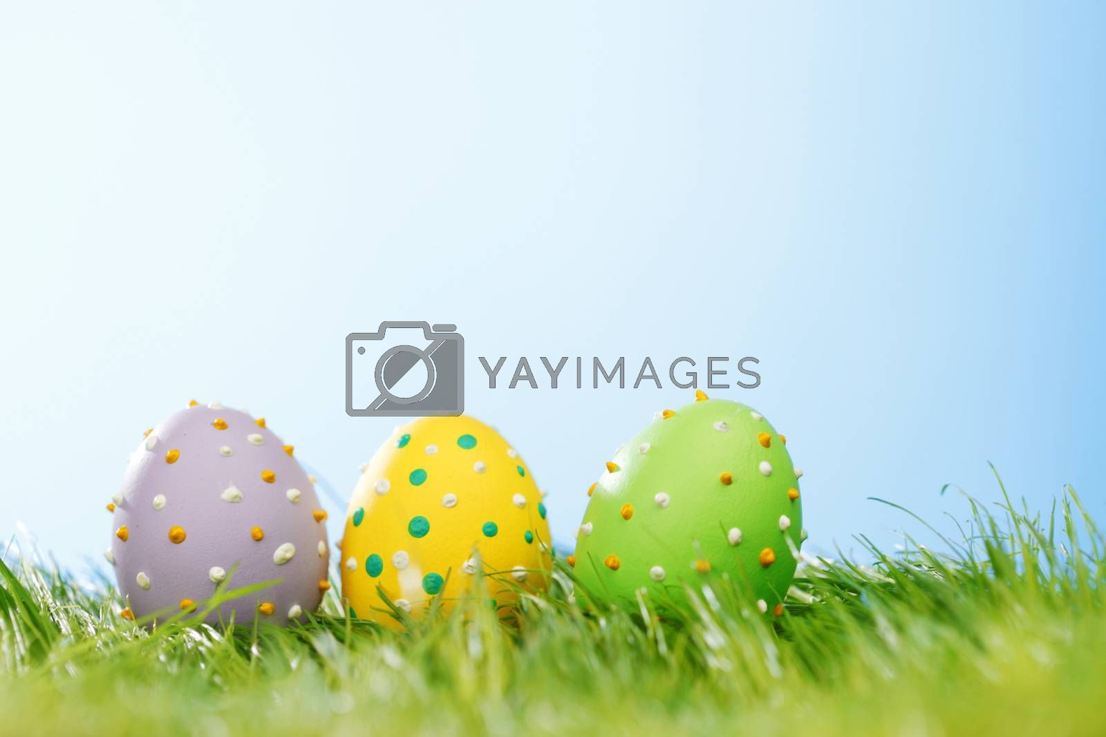 Easter eggs by Yellowj