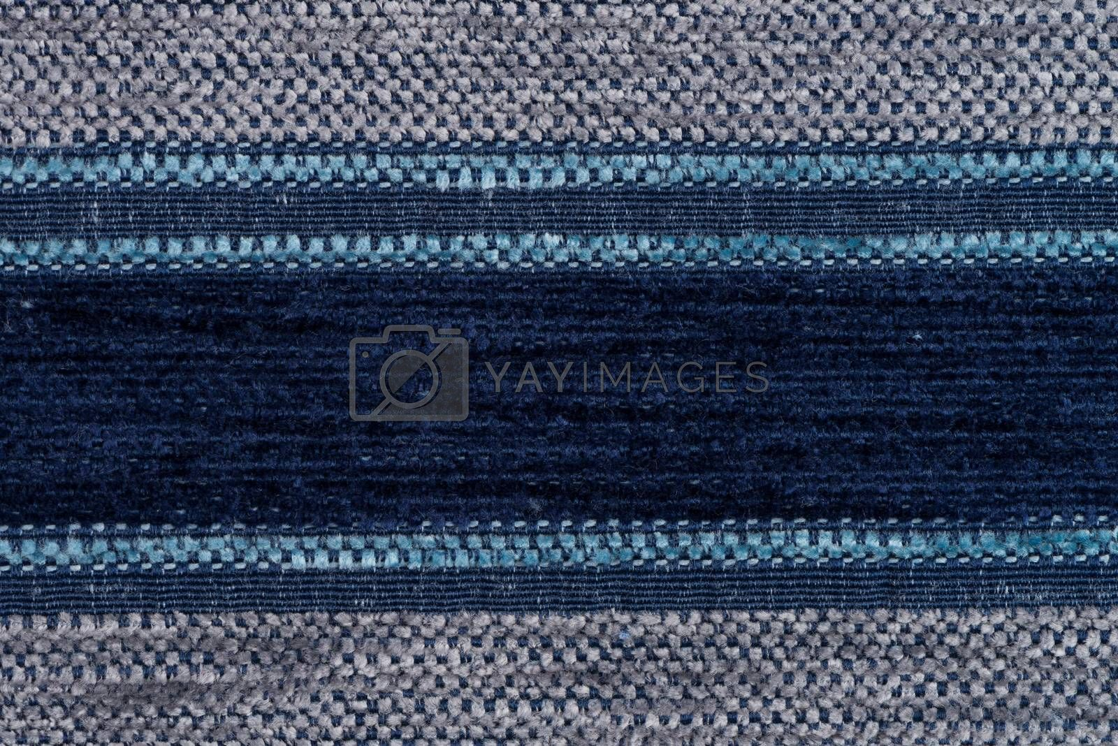 Blue fabric by homydesign