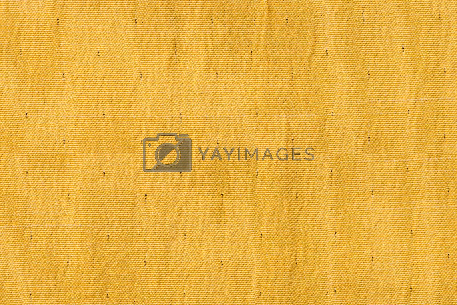Yellow fabric by homydesign