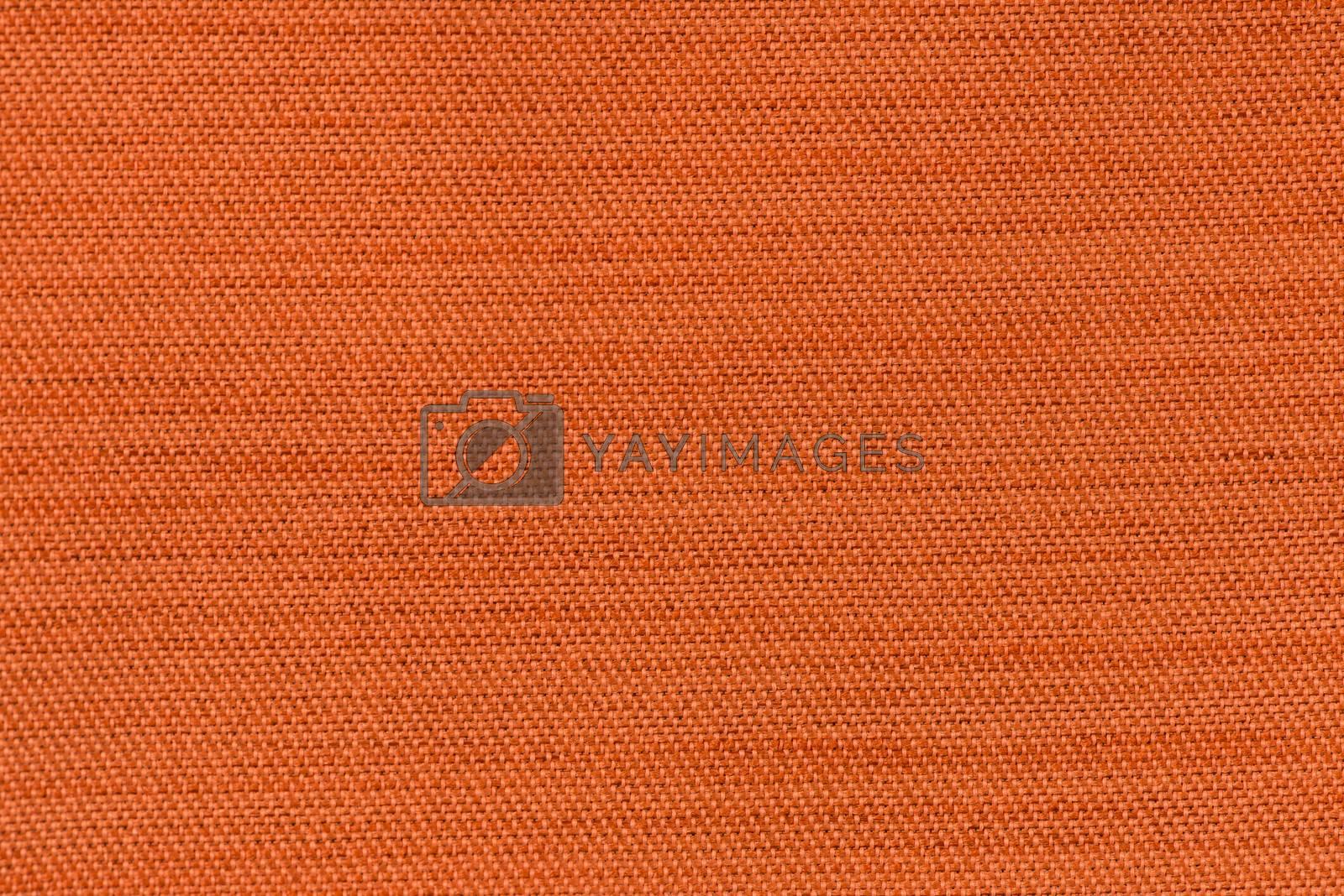 Orange fabric by homydesign