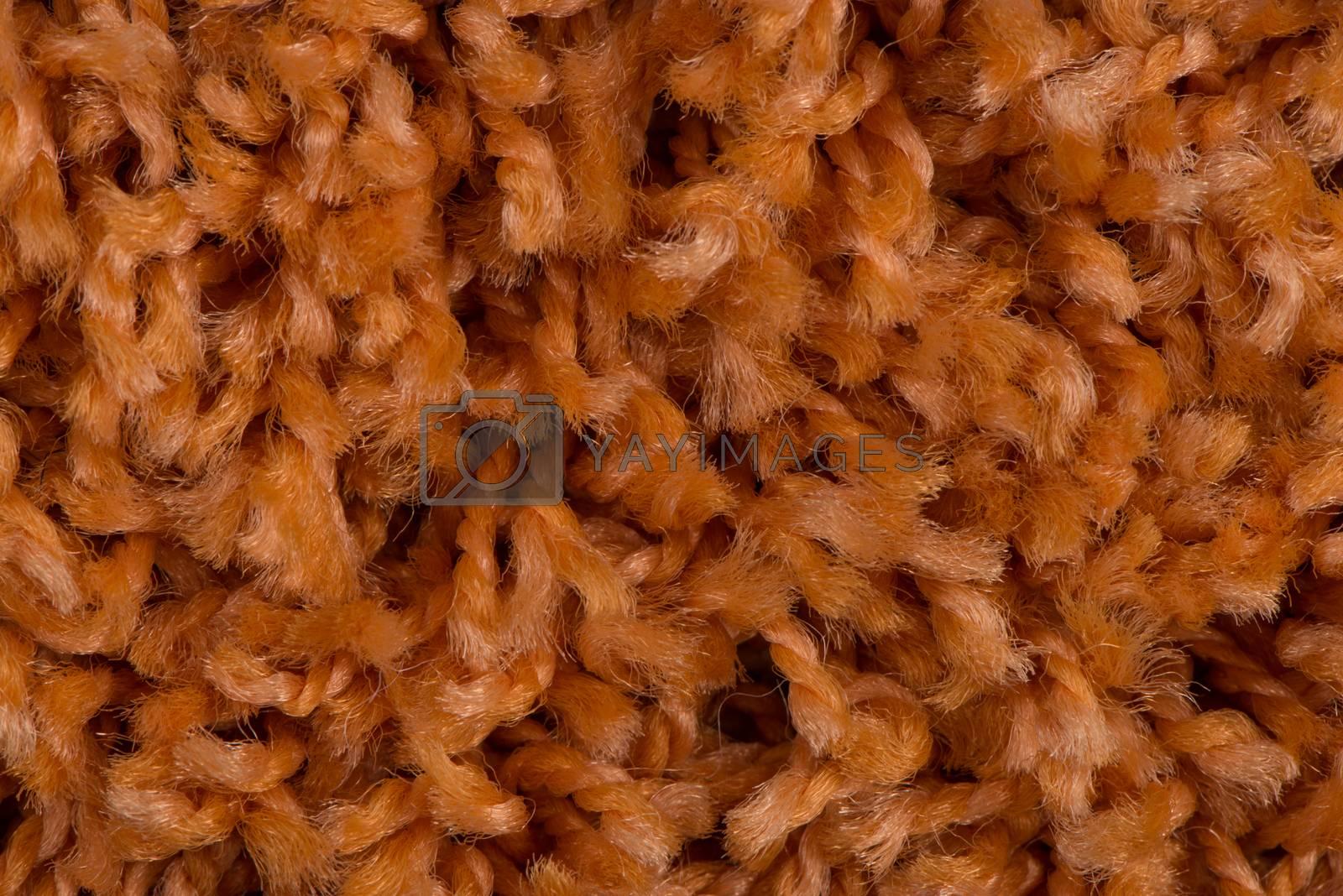 Orange carpet by homydesign