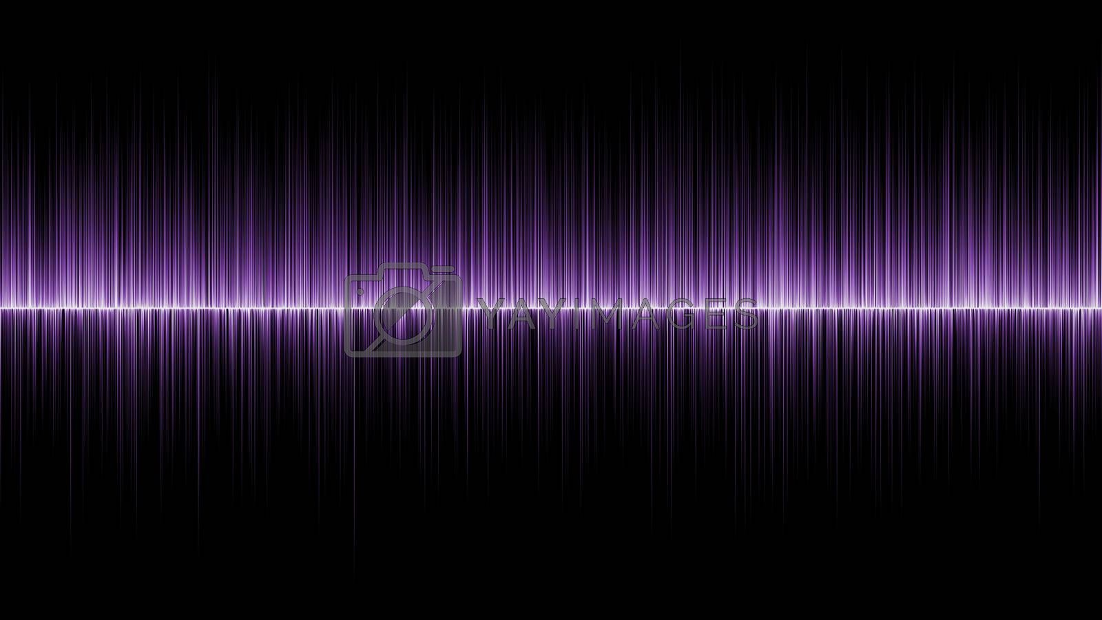 Abstract wave purple colours background by jakgree