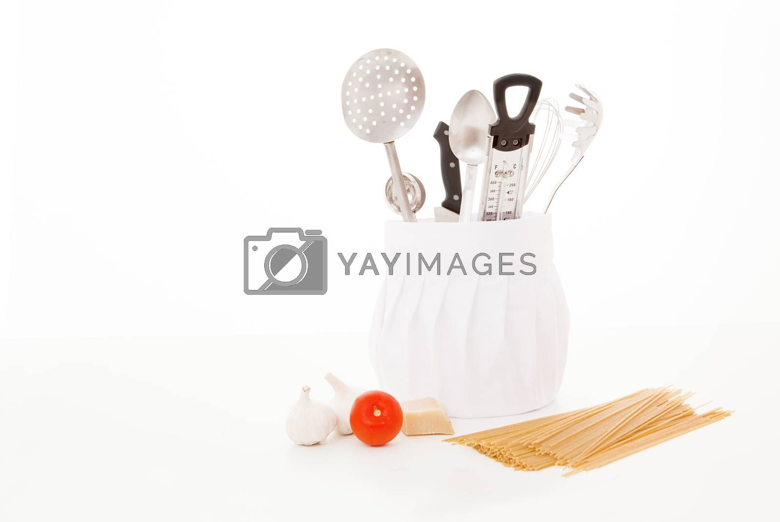 kitchen utensils by mandy_godbehear