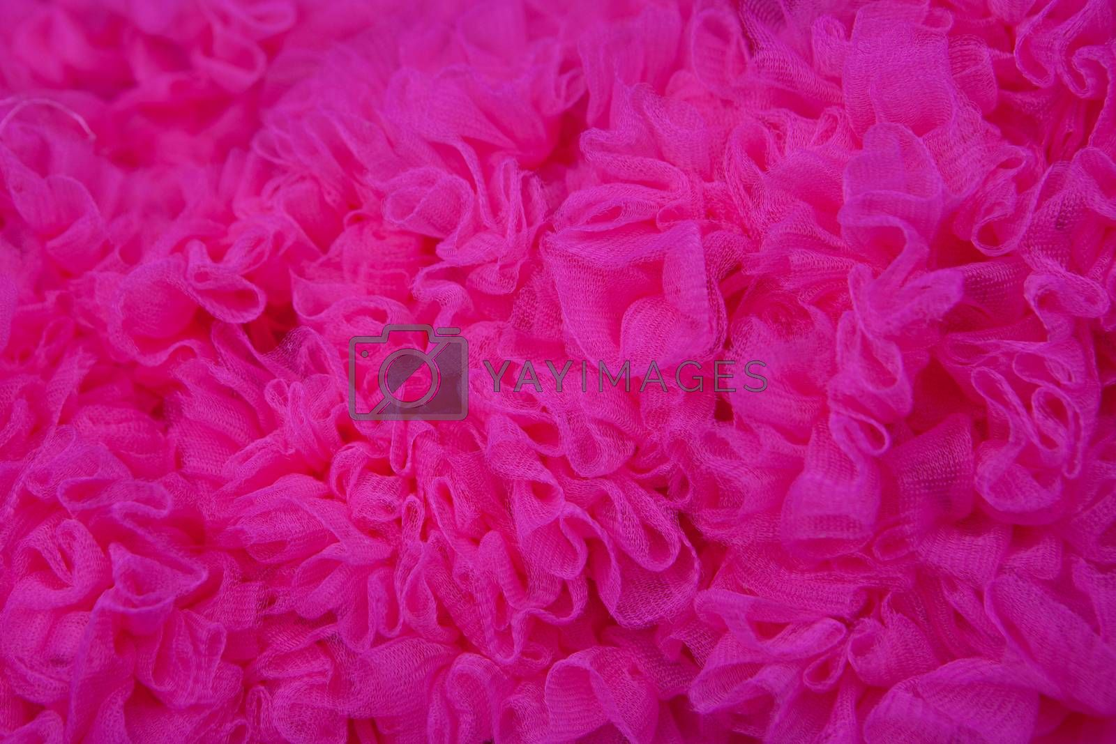 bright pink texture net fabric background