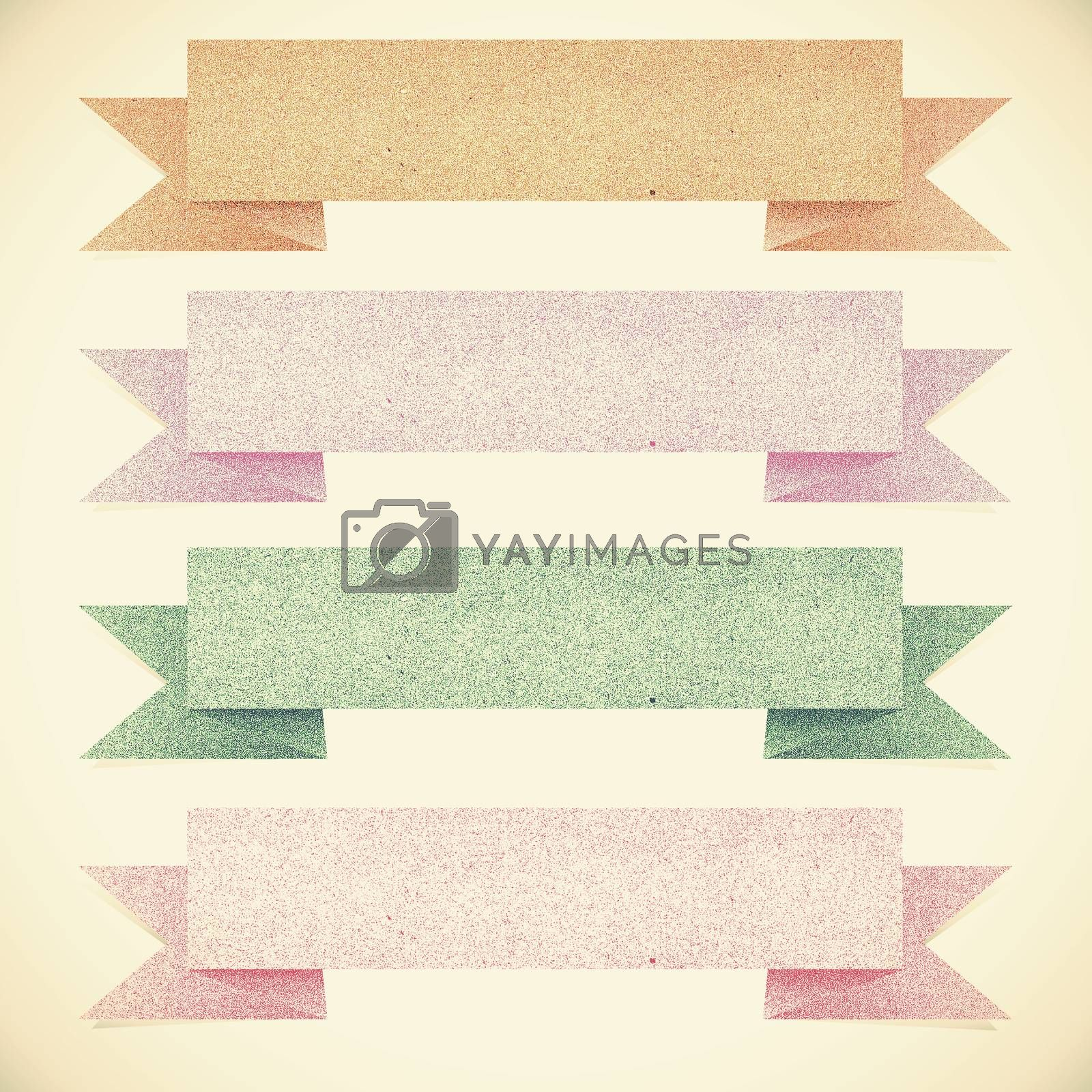 Old Paper texture ,Header tag recycled paper on vintage tone  ba by jakgree