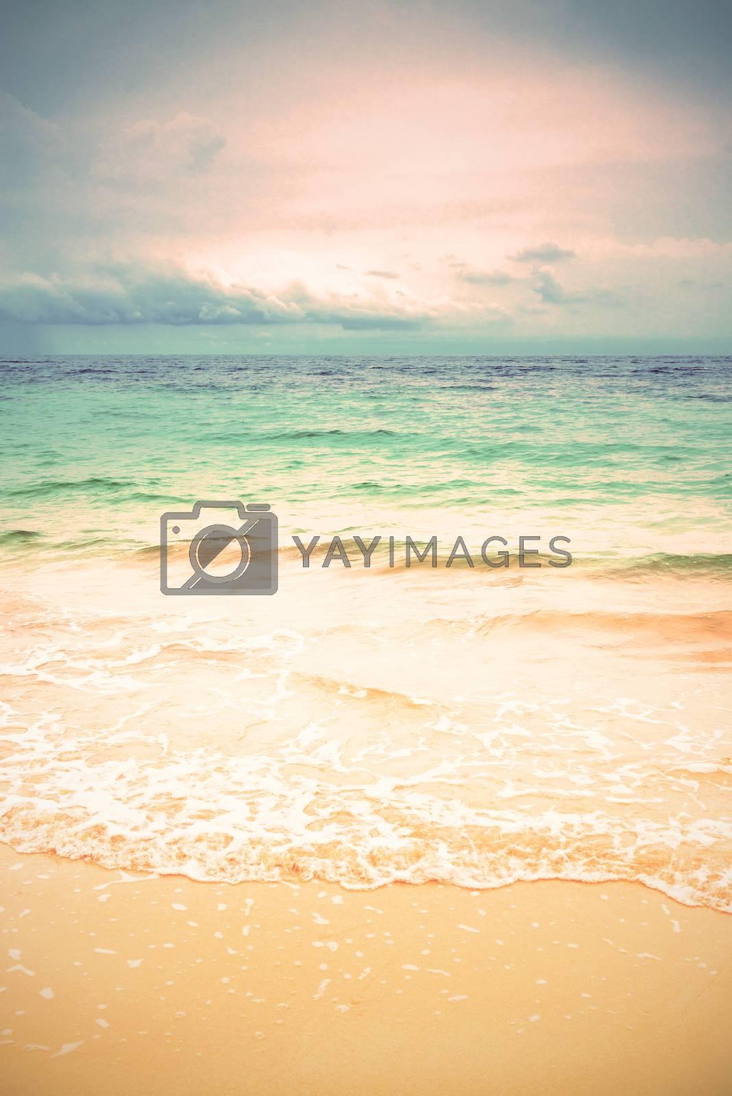Vintage seascape  by jakgree