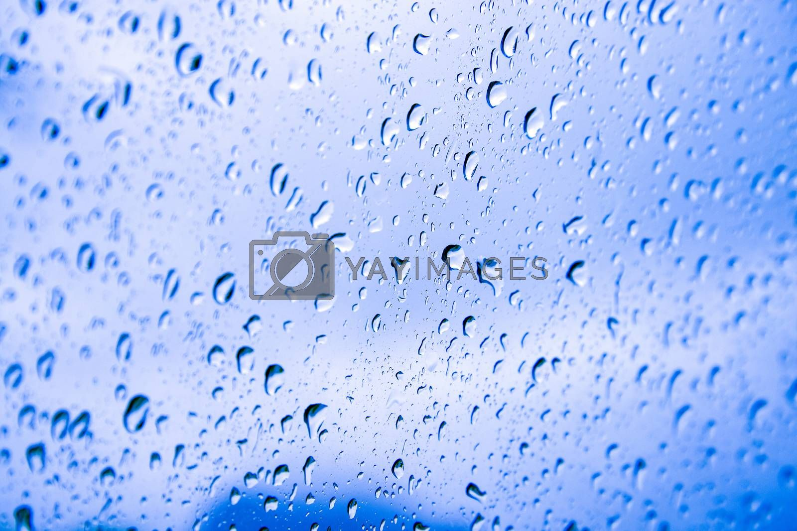 Water drops background by jakgree
